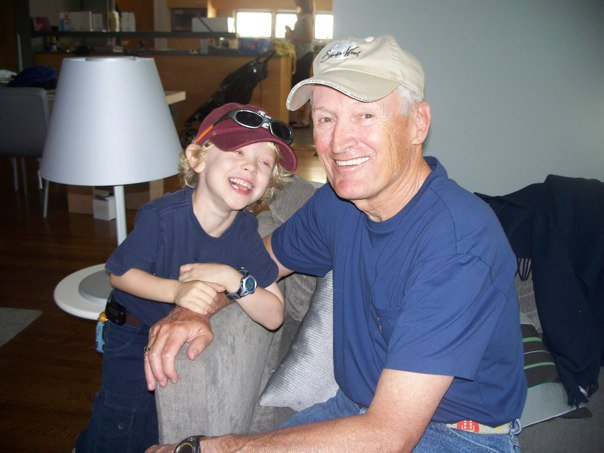 Dad and Owen circa 2010