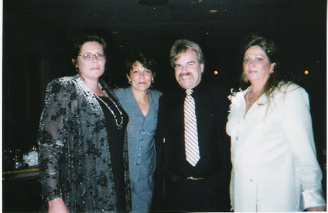 Us girls Sherrill Gamble Dan and Me. March 4th 2000