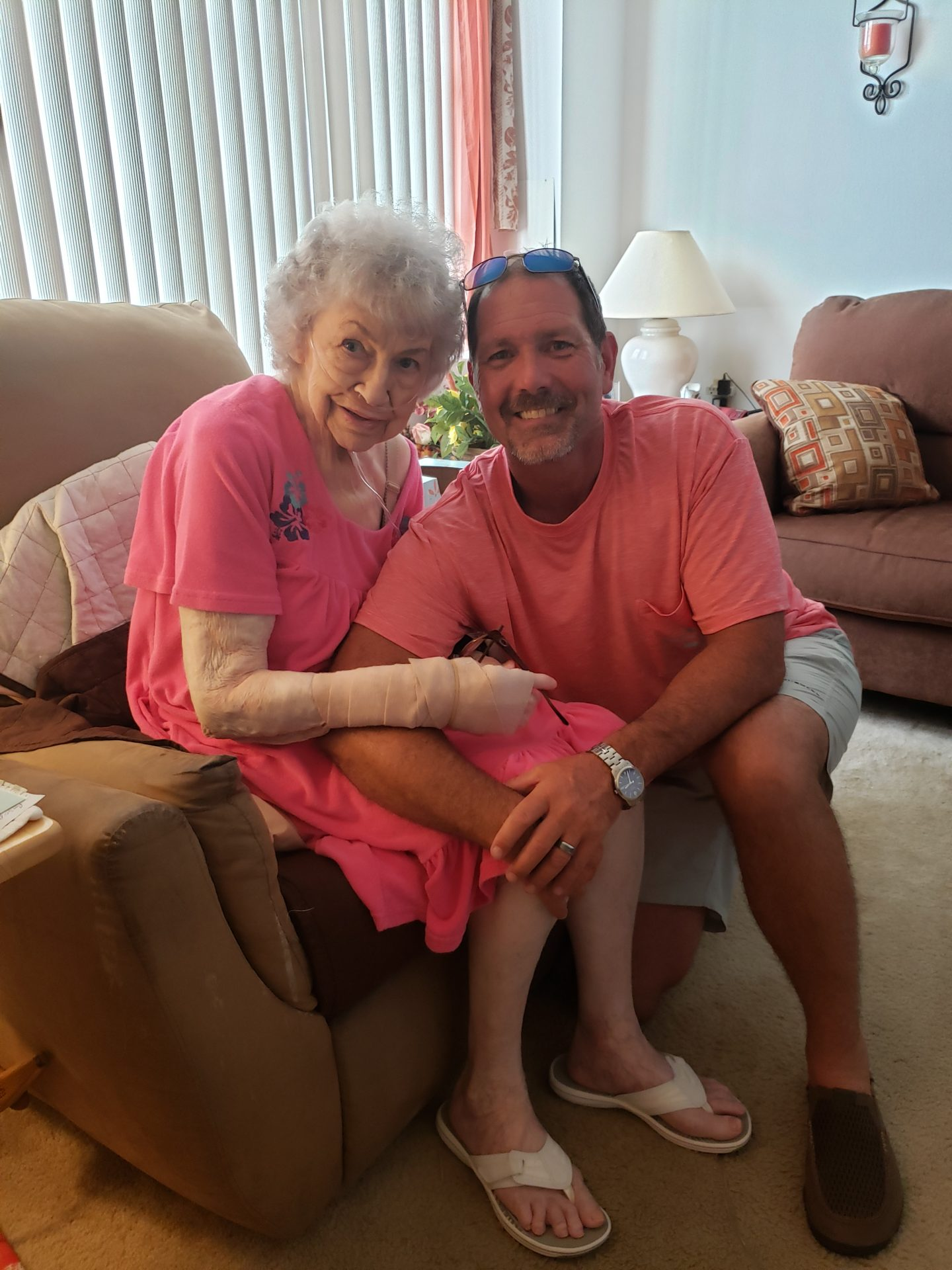 Grandma and Me, Summer 2019