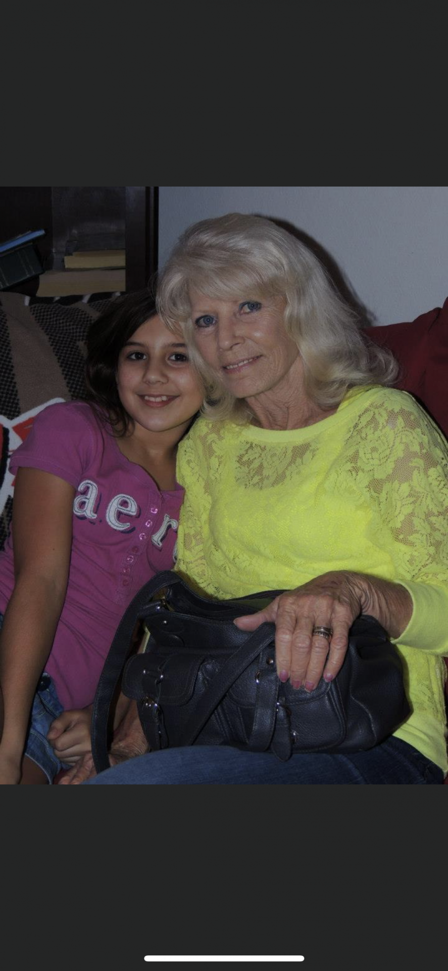 Nana and stormie