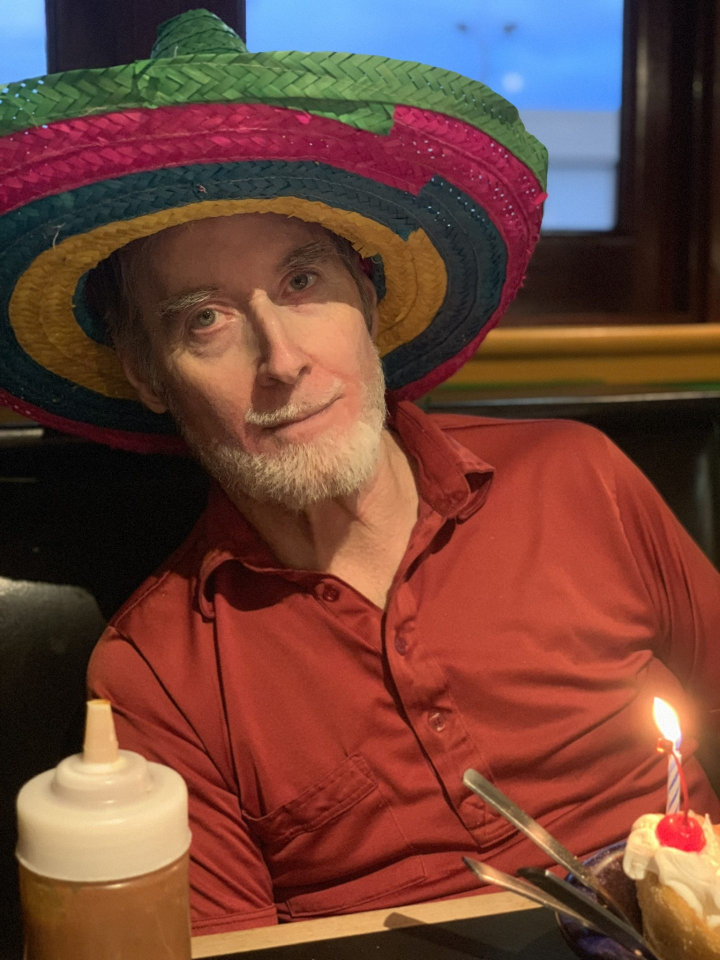 Ed's birthday 2018 ...at what restaurant? Bet you can guess! Good Mexican food & a good time with family.