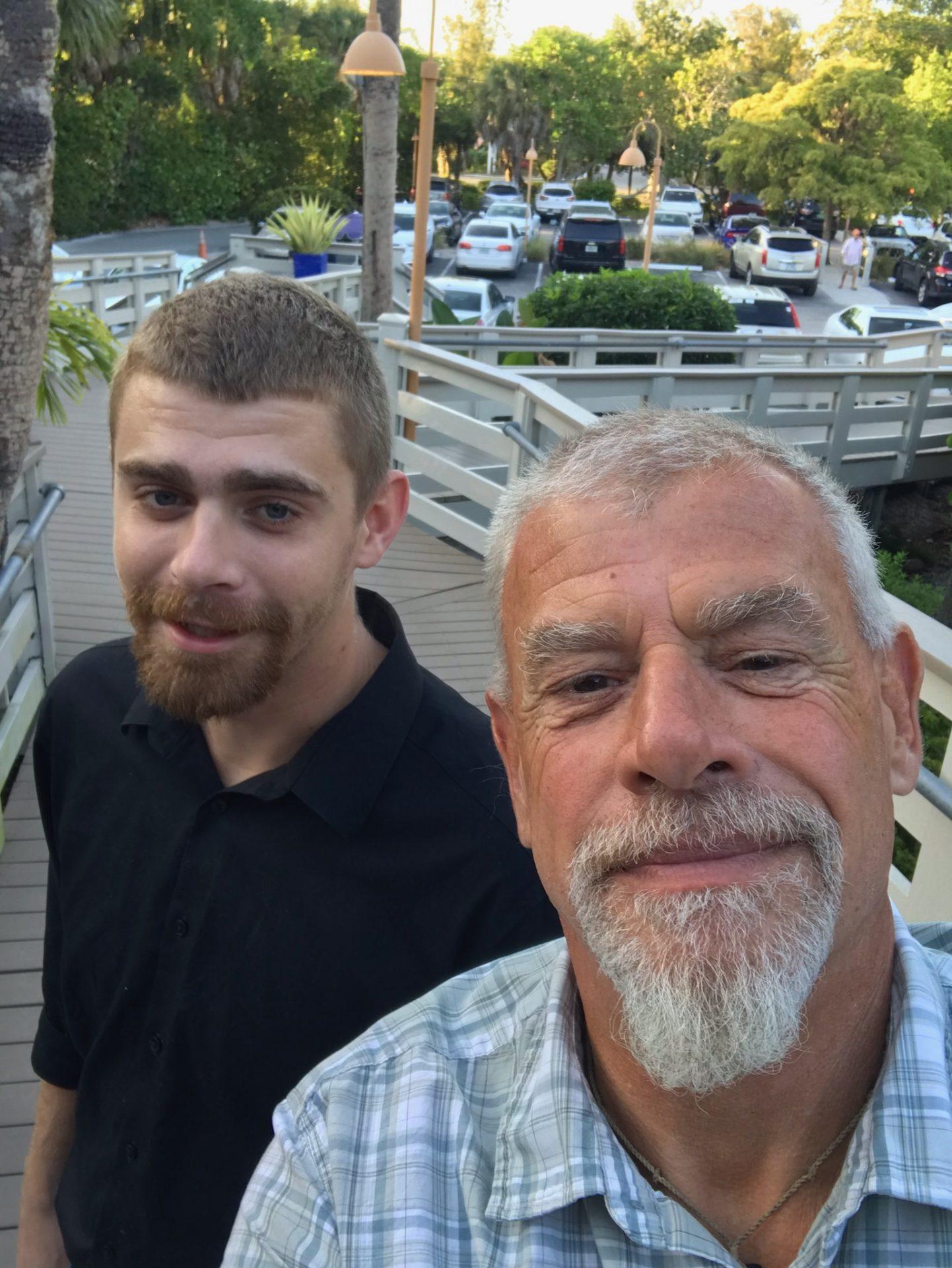 Gregory Timmons and son, Bob Hogle-Easton.