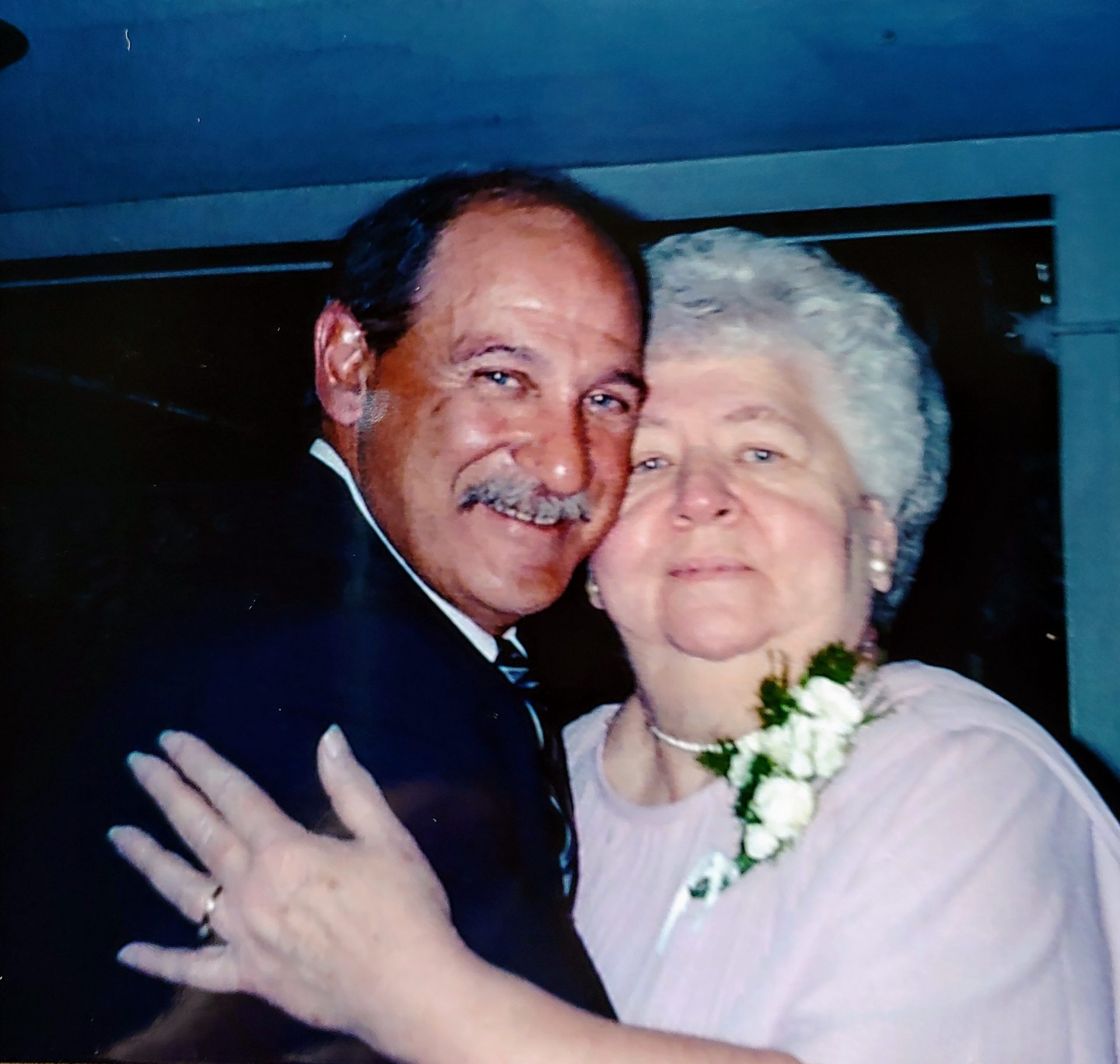 Love this picture of Mrs. Gallup and Bob