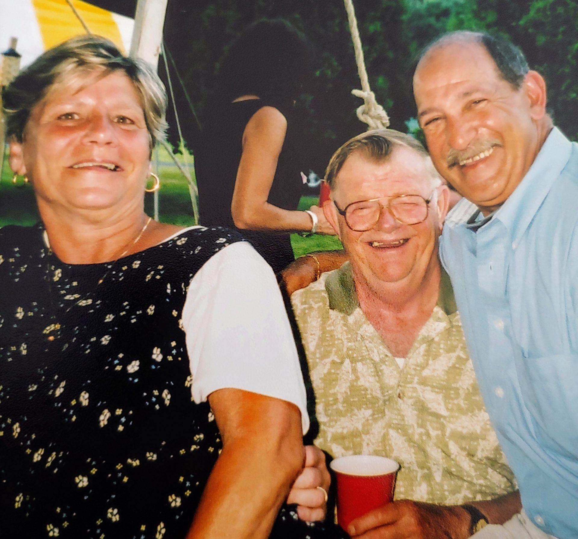 Bob with Fran and Jake. 2005