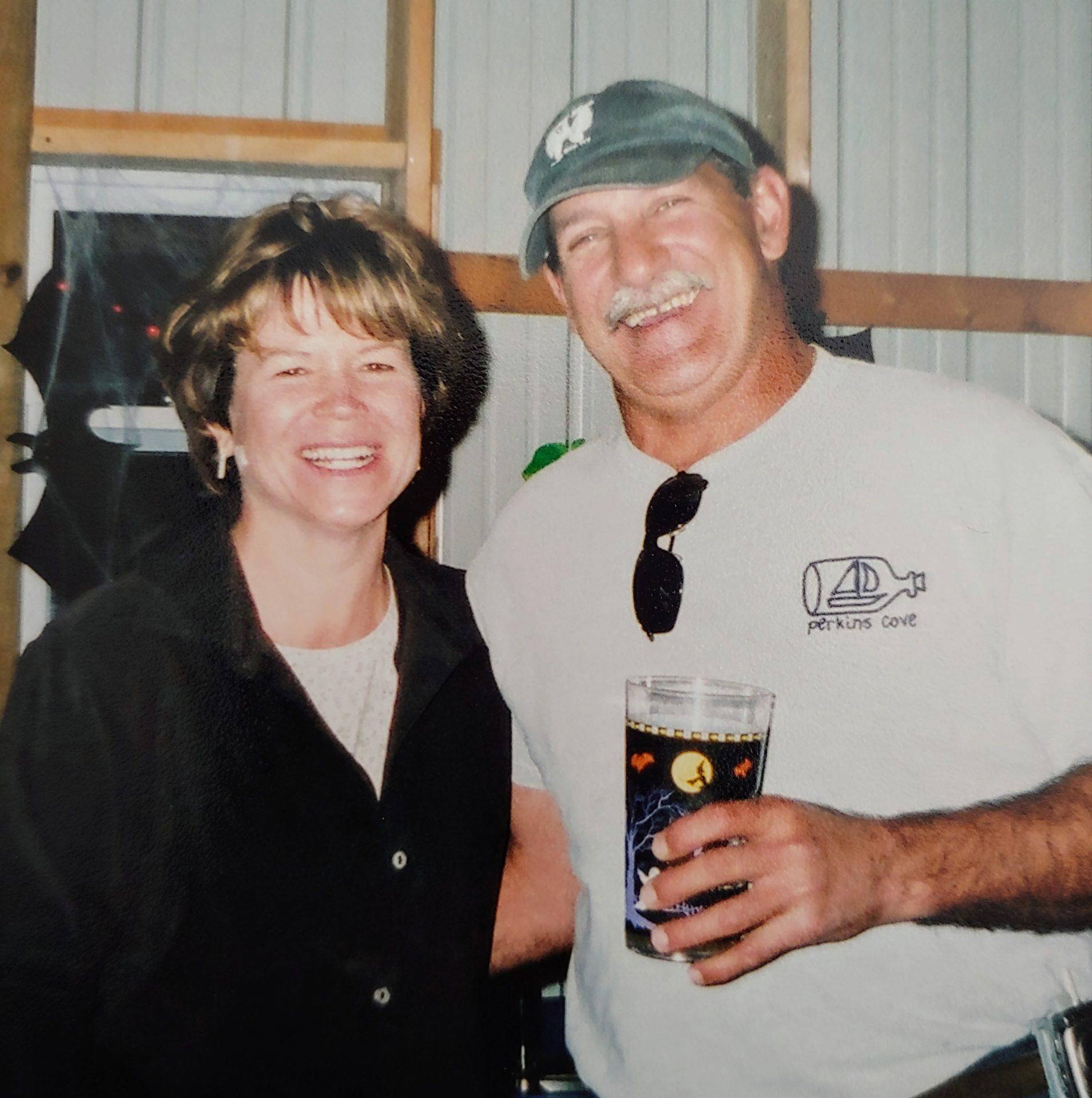 Theresa Callahan Wuerslin sends her love Bob.  Bob bartended at her Wedding to Markus.