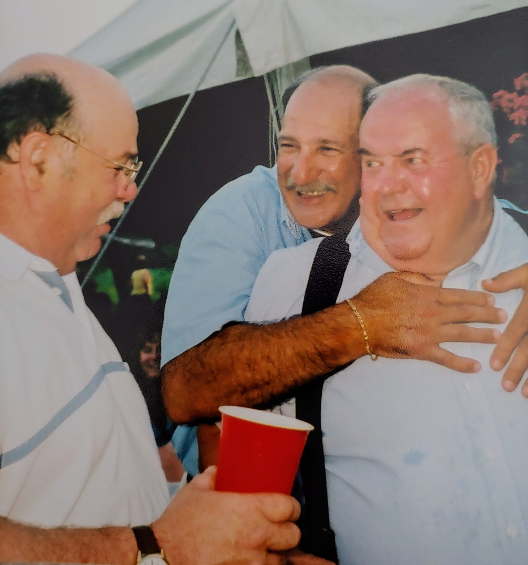 Bob loved Uncle Bud Greiner.  Another we lost last yr.  Bob Gilbert also in pic
