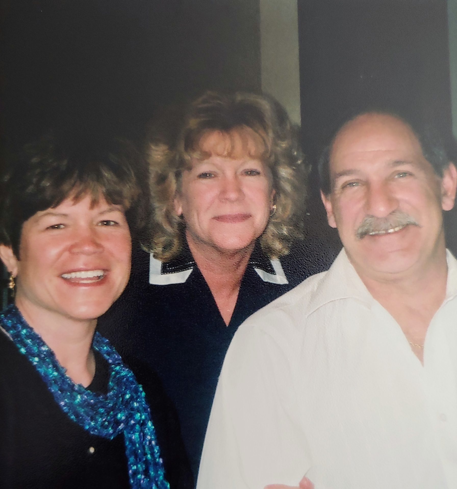 Bob, Theresa and Linda on Easter Sunday