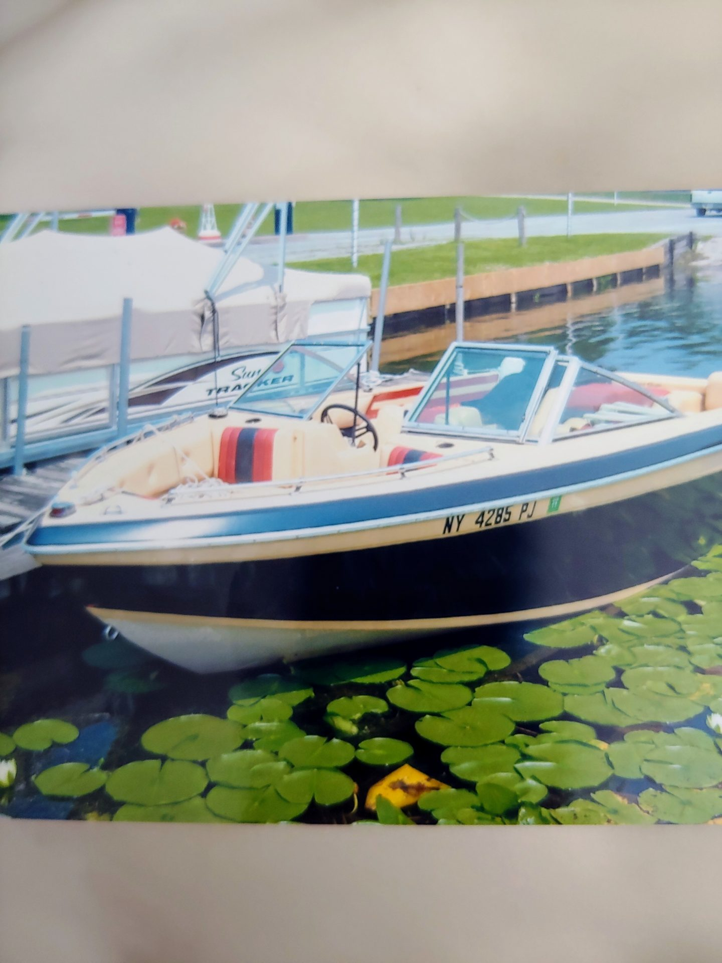 Bob's boat that he loved