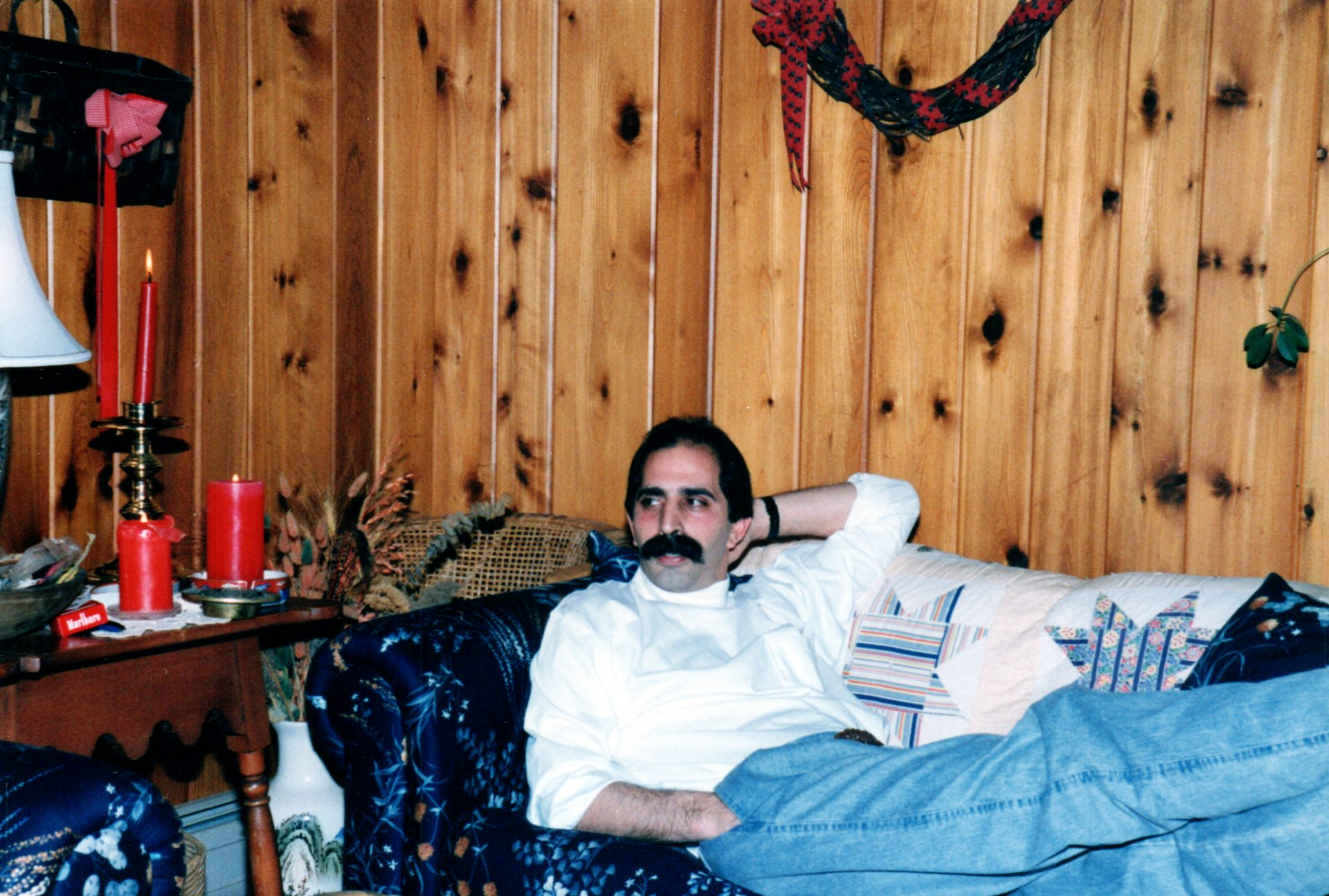 Jimmy at home in Farmington, CT