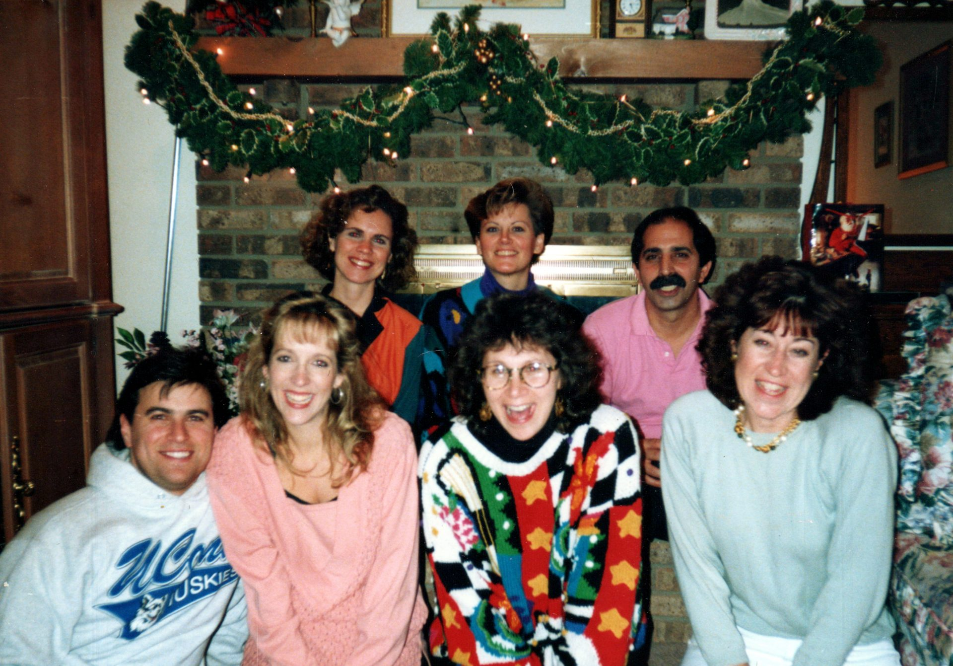 Jimmy with friends (circa 1992)