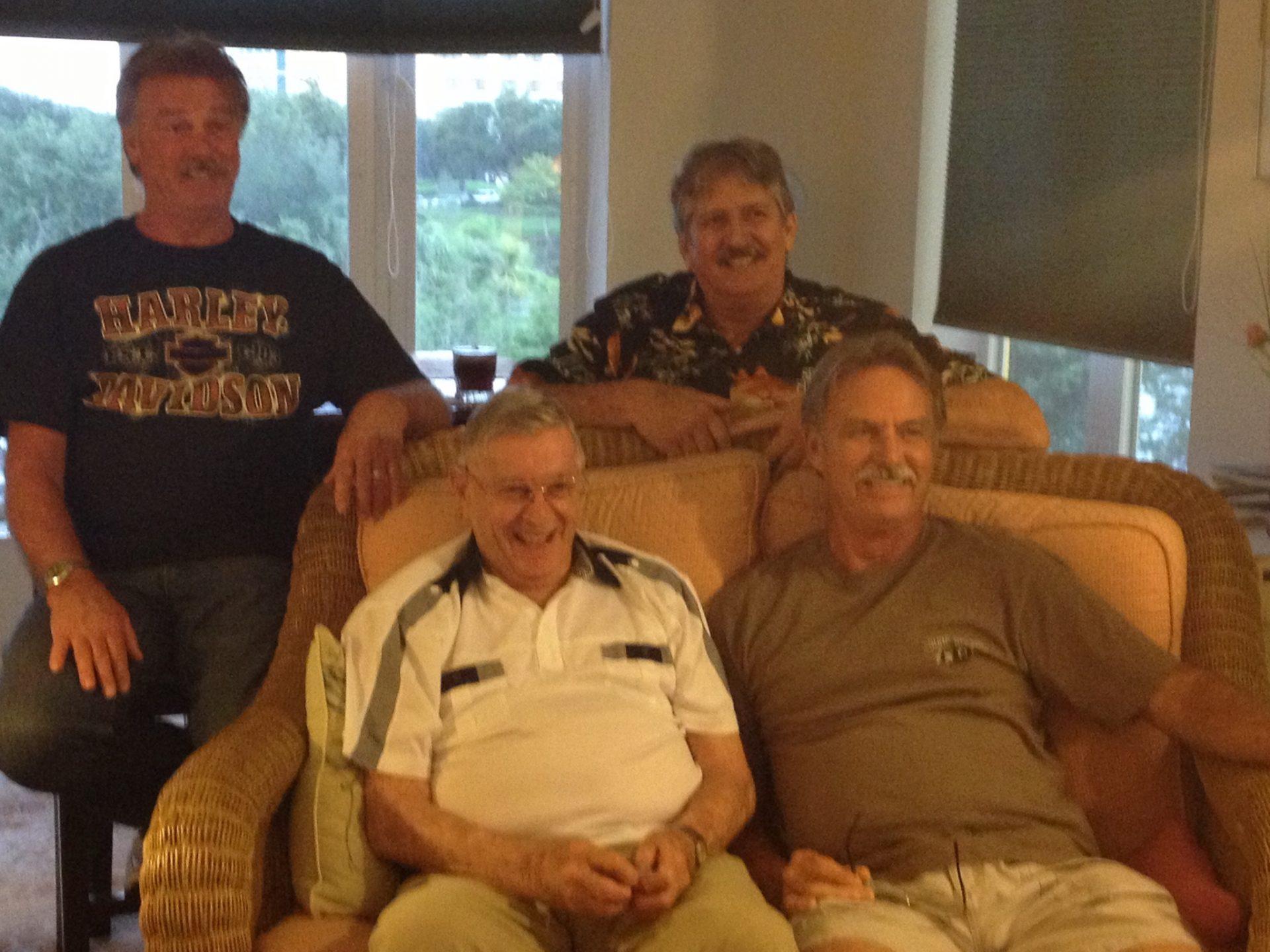 Dad, Jim, Tom and Rick