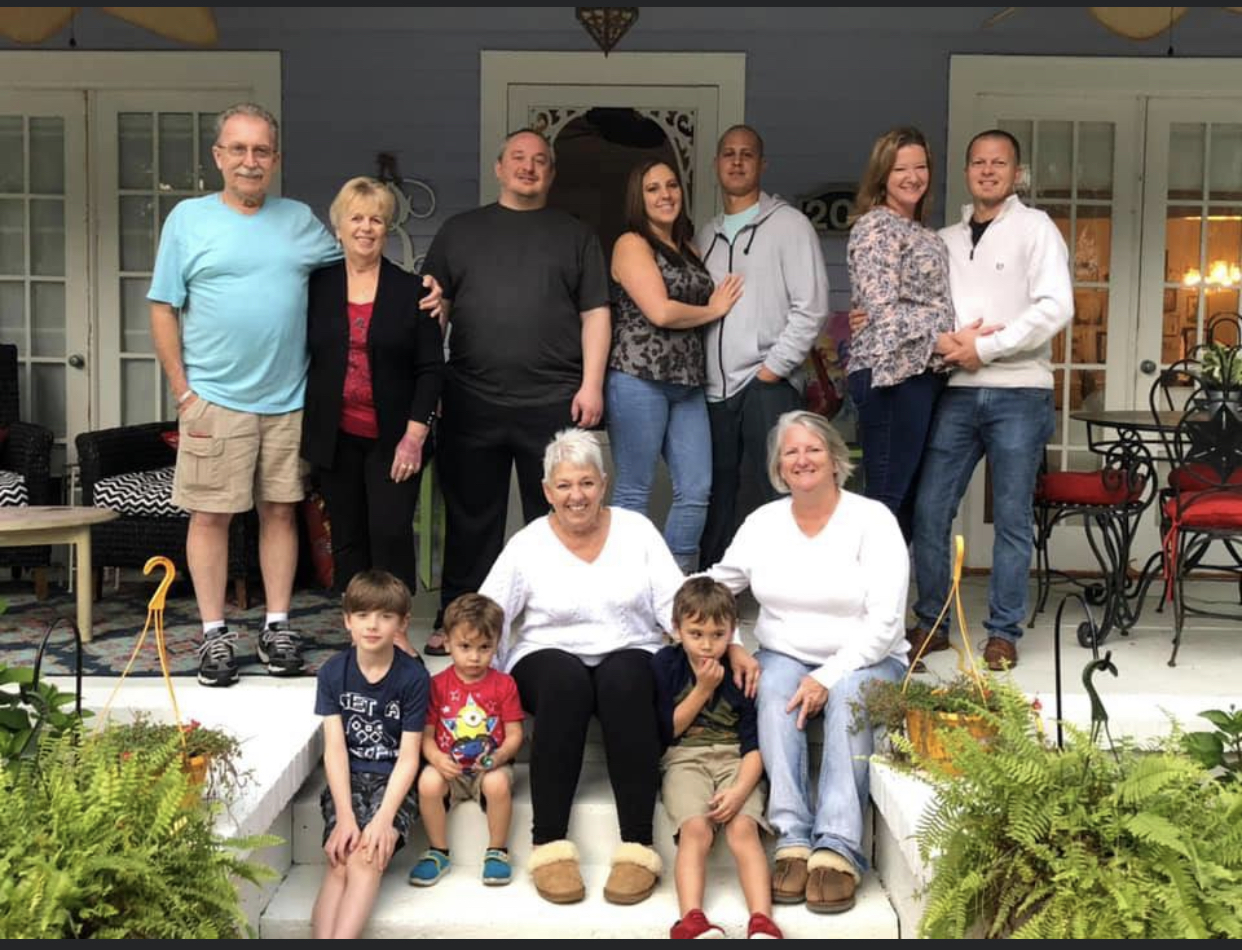 One of our family gathers in 2019