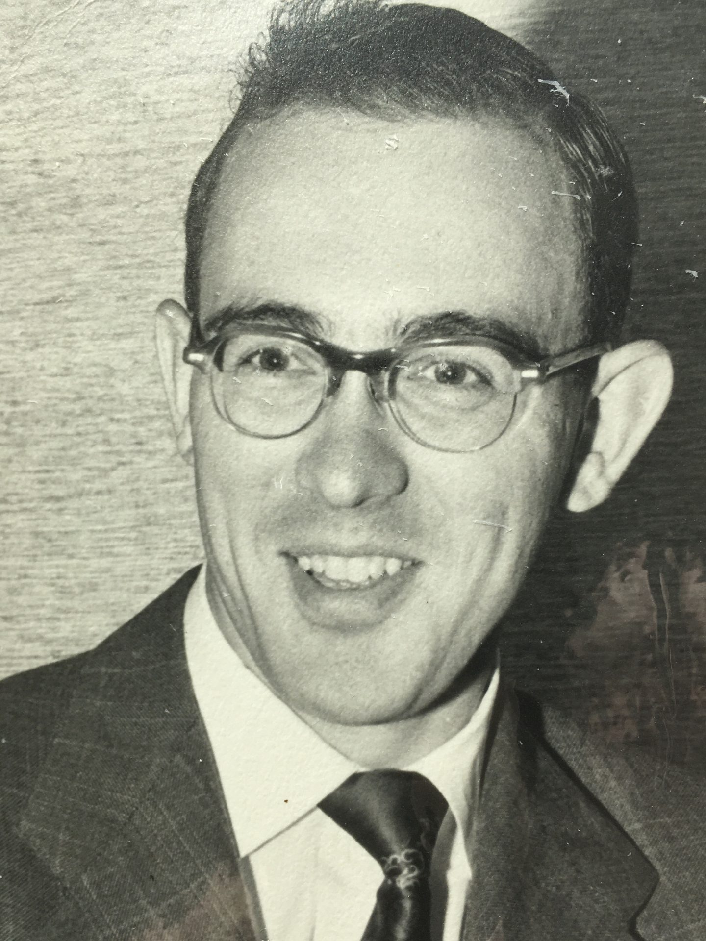 Dick as a young lawyer in the 1950s