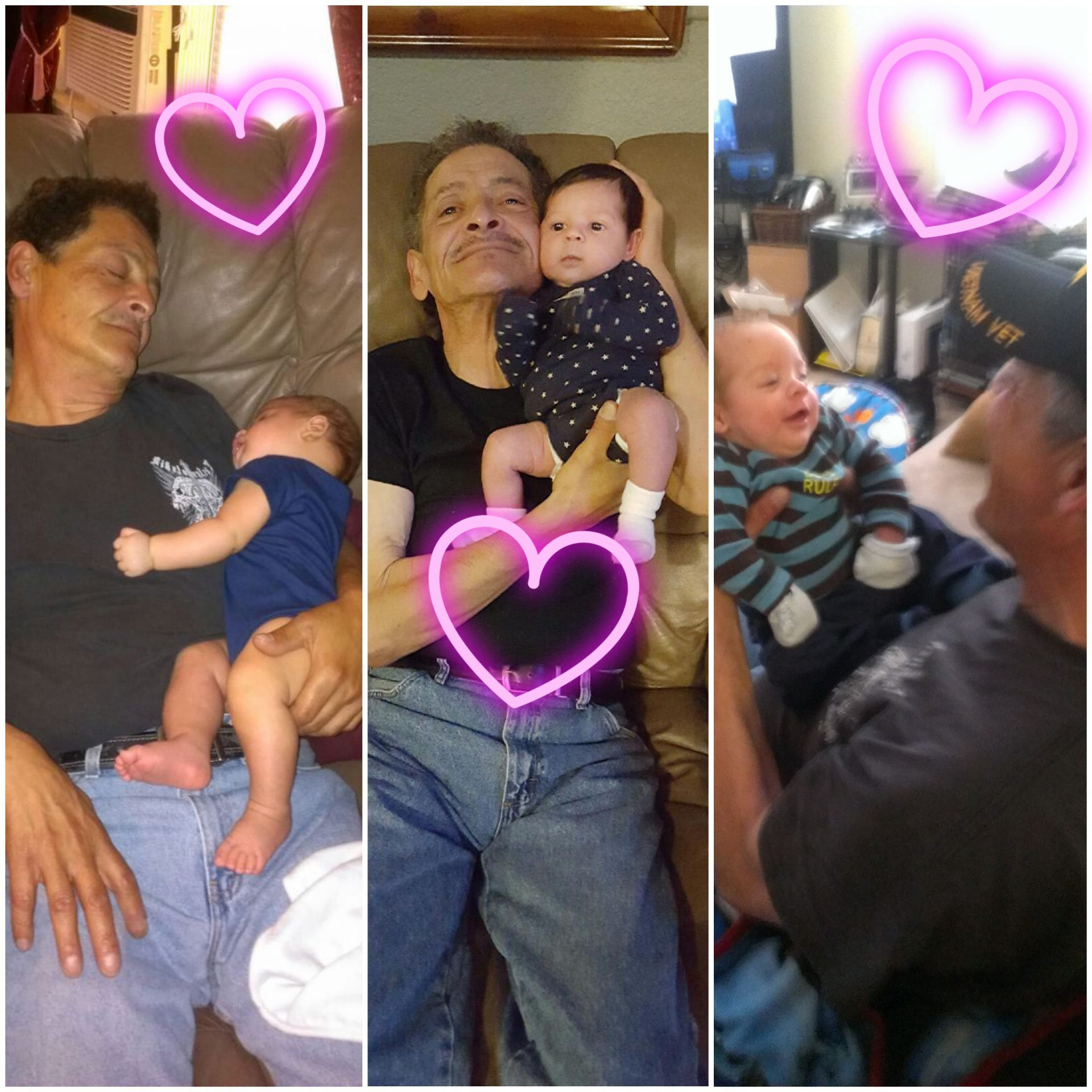 We will miss our papa!<br /> UR babies M, J, Z.
