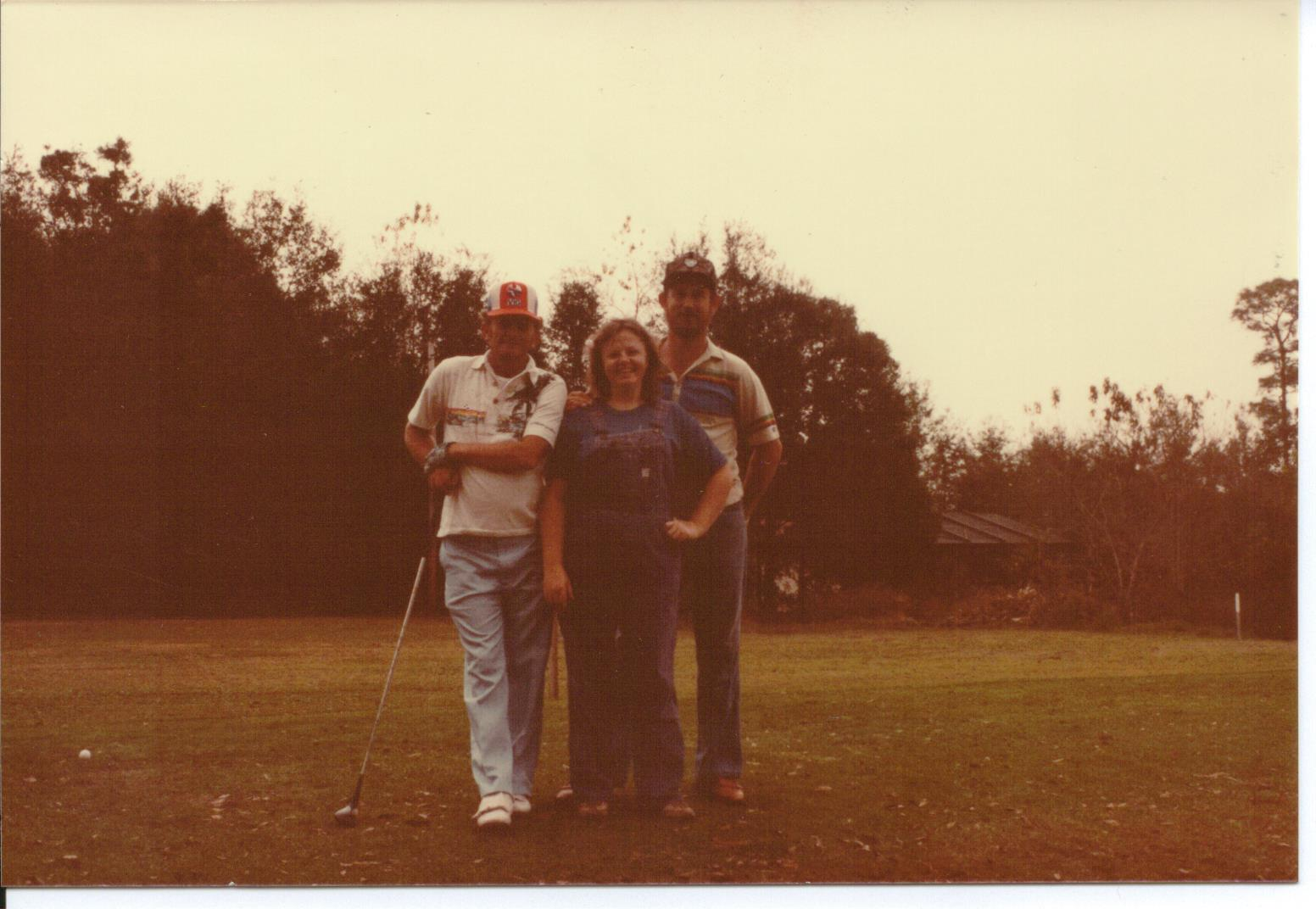 Bob, Ellen and Jerry. Mt. Plymouth Golf Course