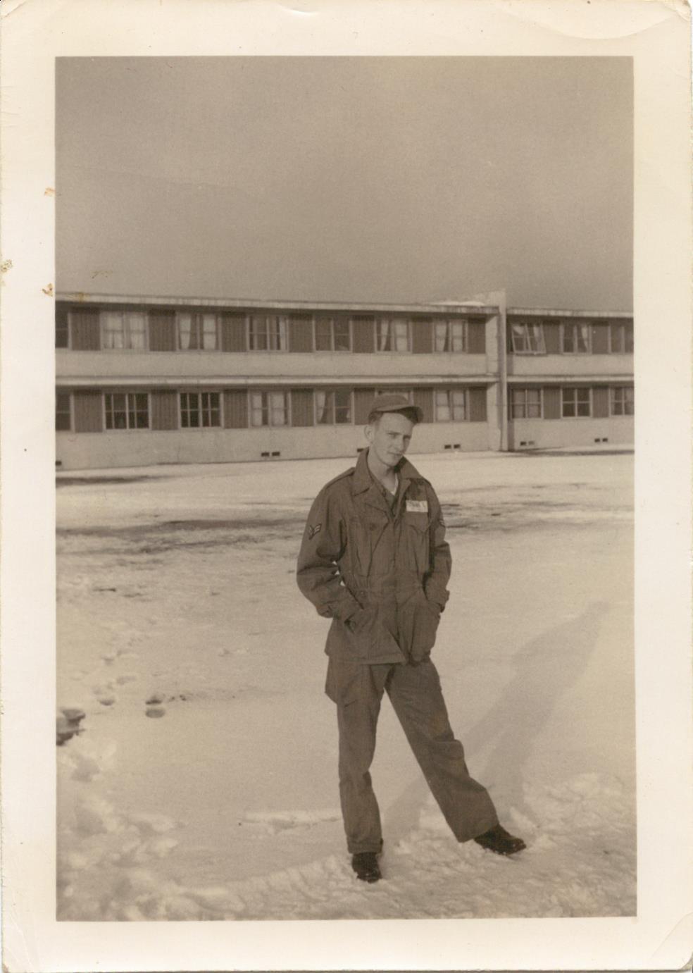 Bob in  Misawa, Japan while in the USAF