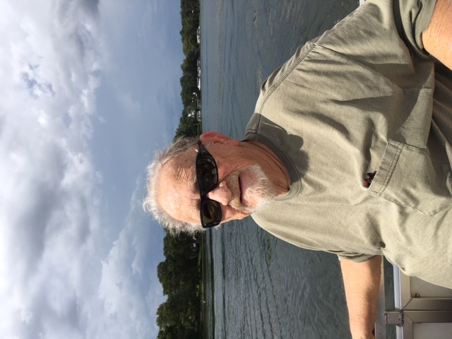 Bob and I took the tour of the Winter Park chain of lakes from Dinky Dock. Again!