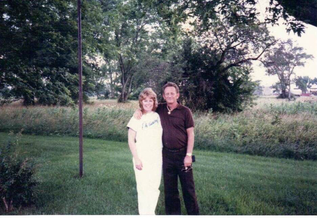 Bob and I in Kentucky.  He said this was his favorite picture of us