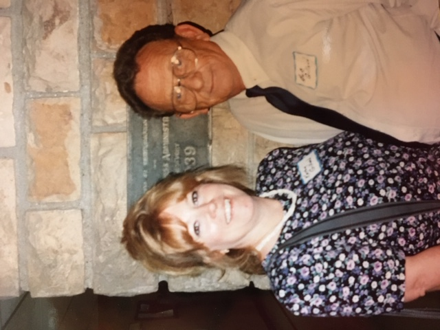 Bob and Kathy at Salem High School Reunion