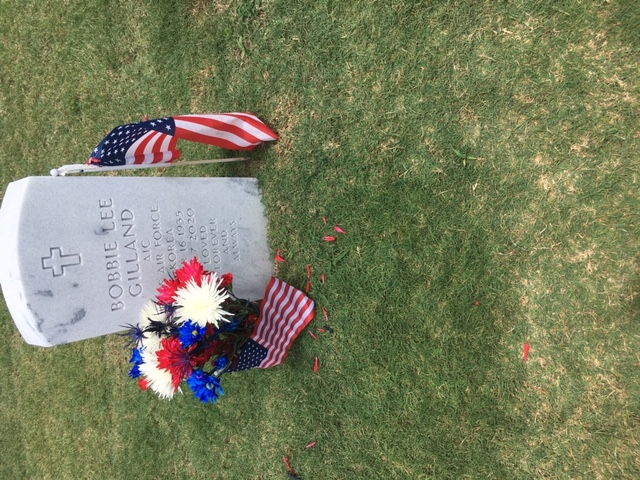 July 4th at Cape Canaveral National Cemetery
