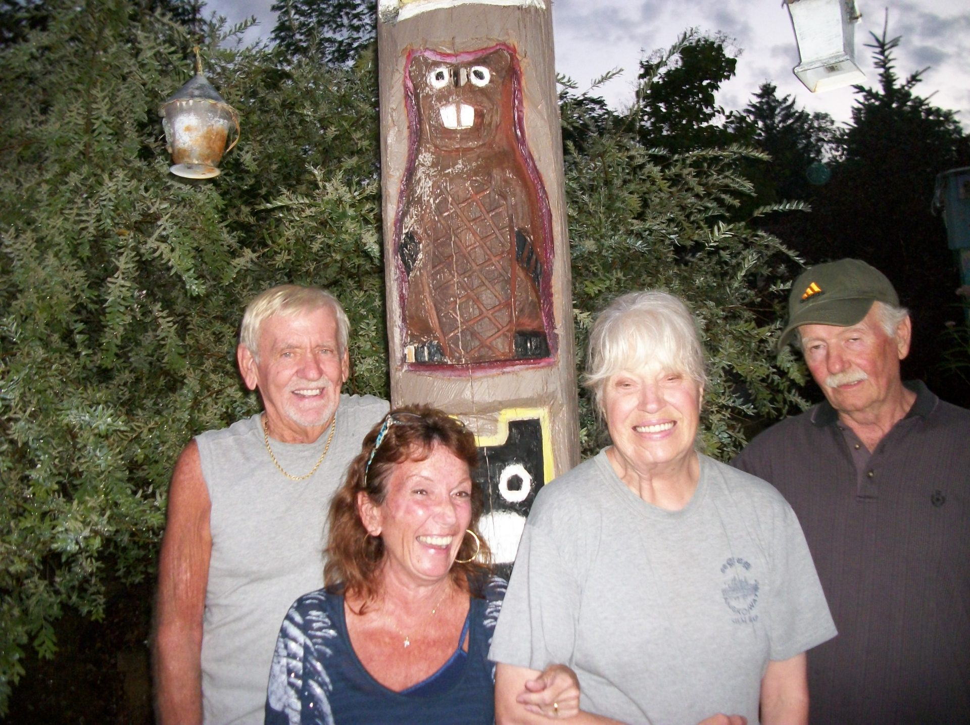 dick, shelly, denny, gail in Wisconsin