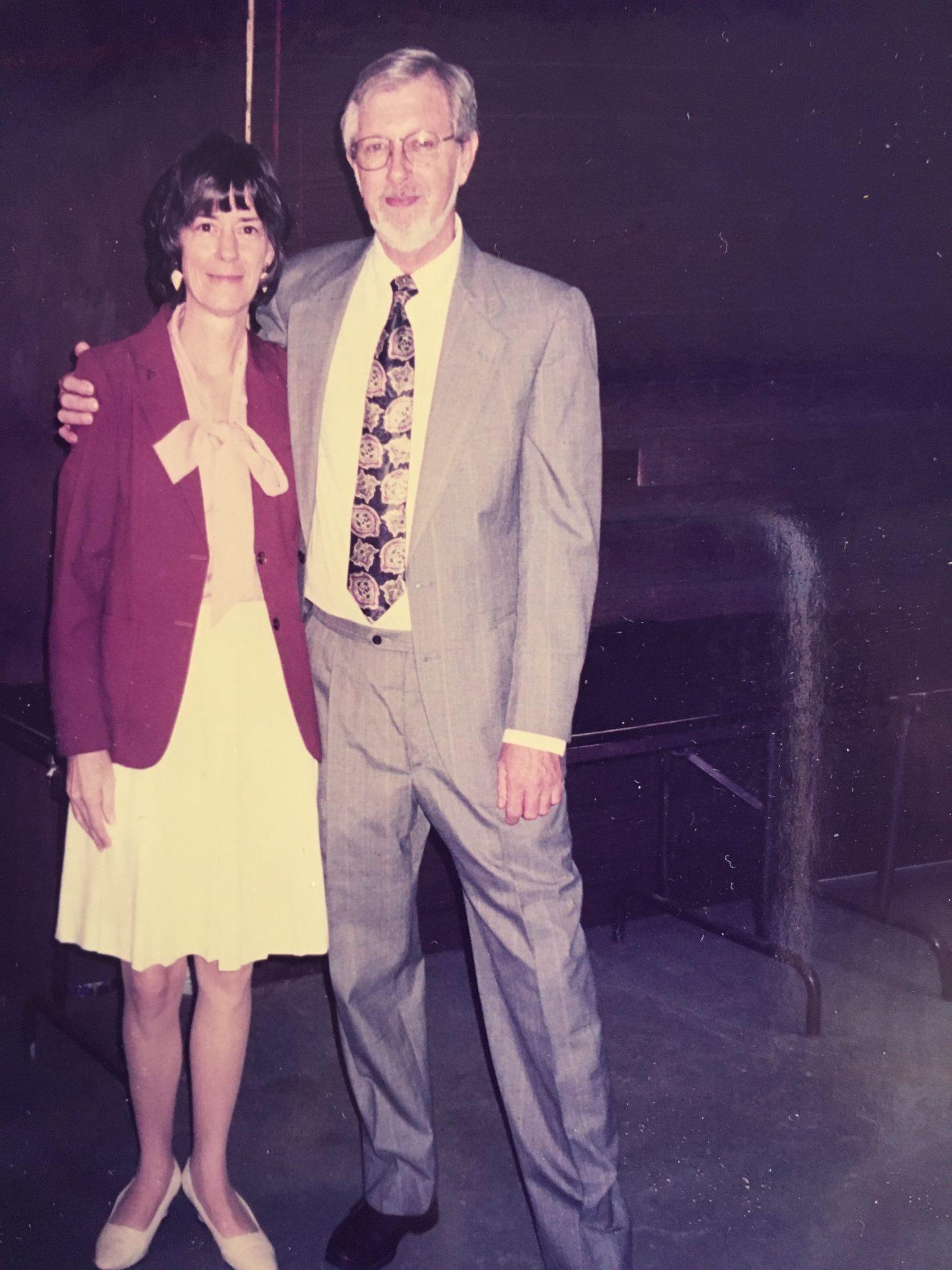 Warren and Glenda<br /> at mama and Bobby's wedding
