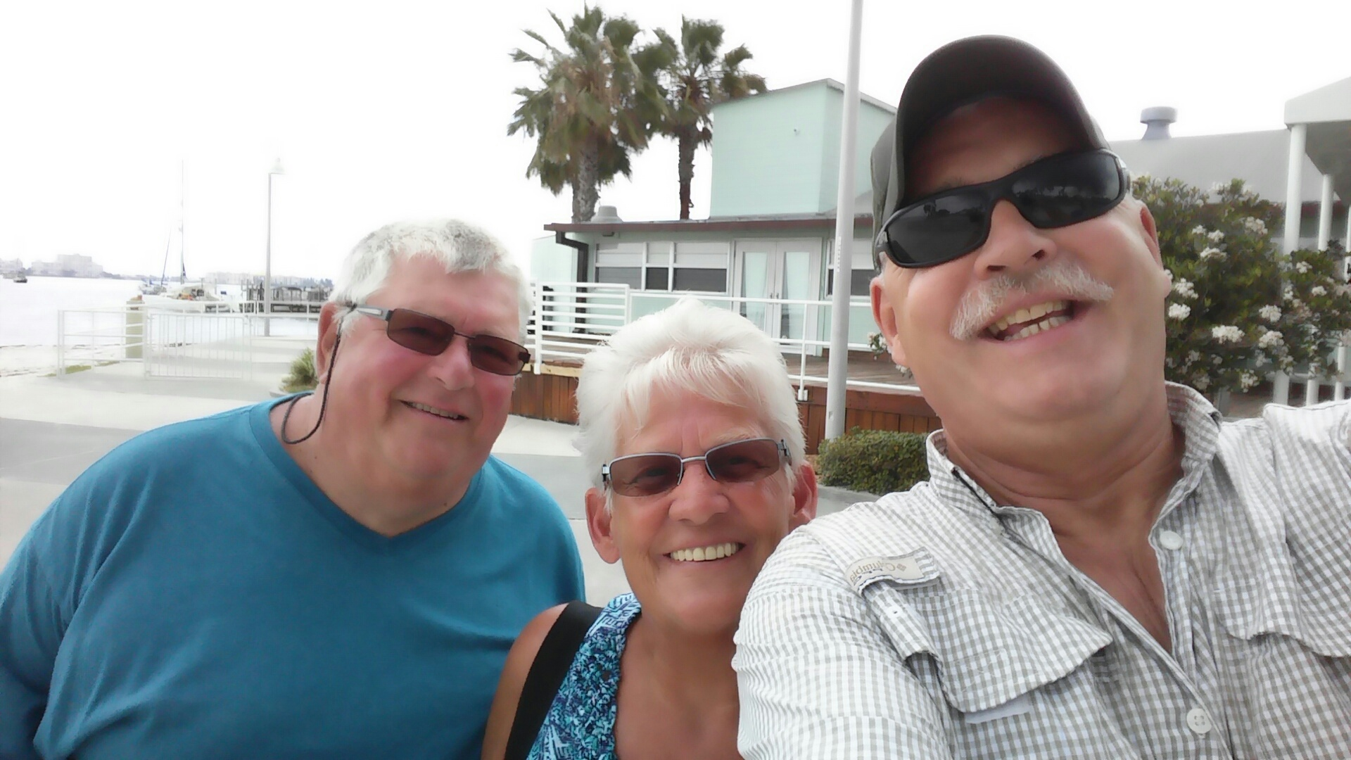 Jürgen Wittmann with  Gaby and Engelbert  We meet us 2016 at Gulfport-St. Petersburg<br /> We like to think back to Jürgen. If it was possible at all, we visited each other when we were on vacation in Florida. We remember his friendly manner and his laughter. We'll miss him. <br /> Gaby and Engelbert Wiedmann from Germany