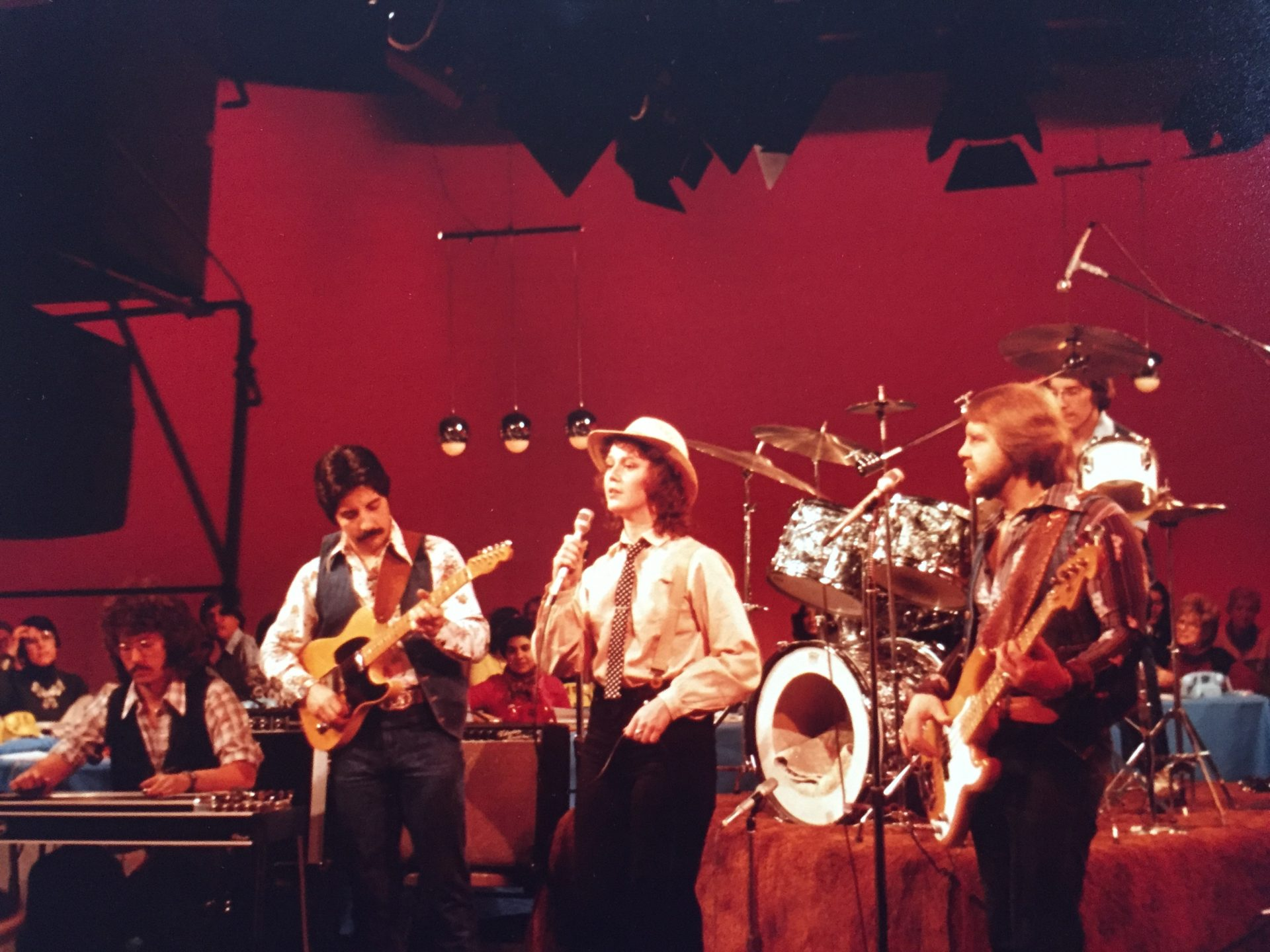 """""""Mr. Ed"""" playing bass with Super Cowboy live on PBS television from New York City on March 4, 1978. This was the first live TV broadcast of the Grand Ole Opry and we played live from NYC in between the Opry broadcast and the concurrent PBS fund drive."""