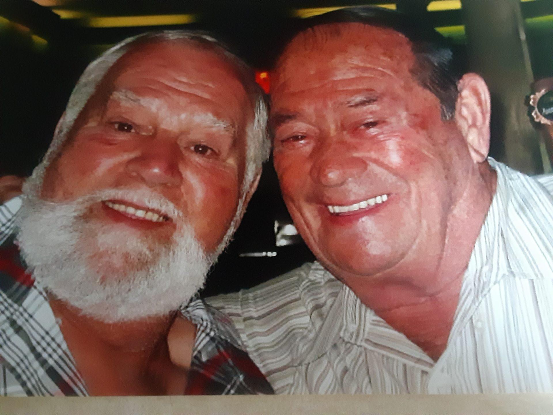 Bob and Doug  Nosbisch<br /> Both in heaven now  12 /29/2020