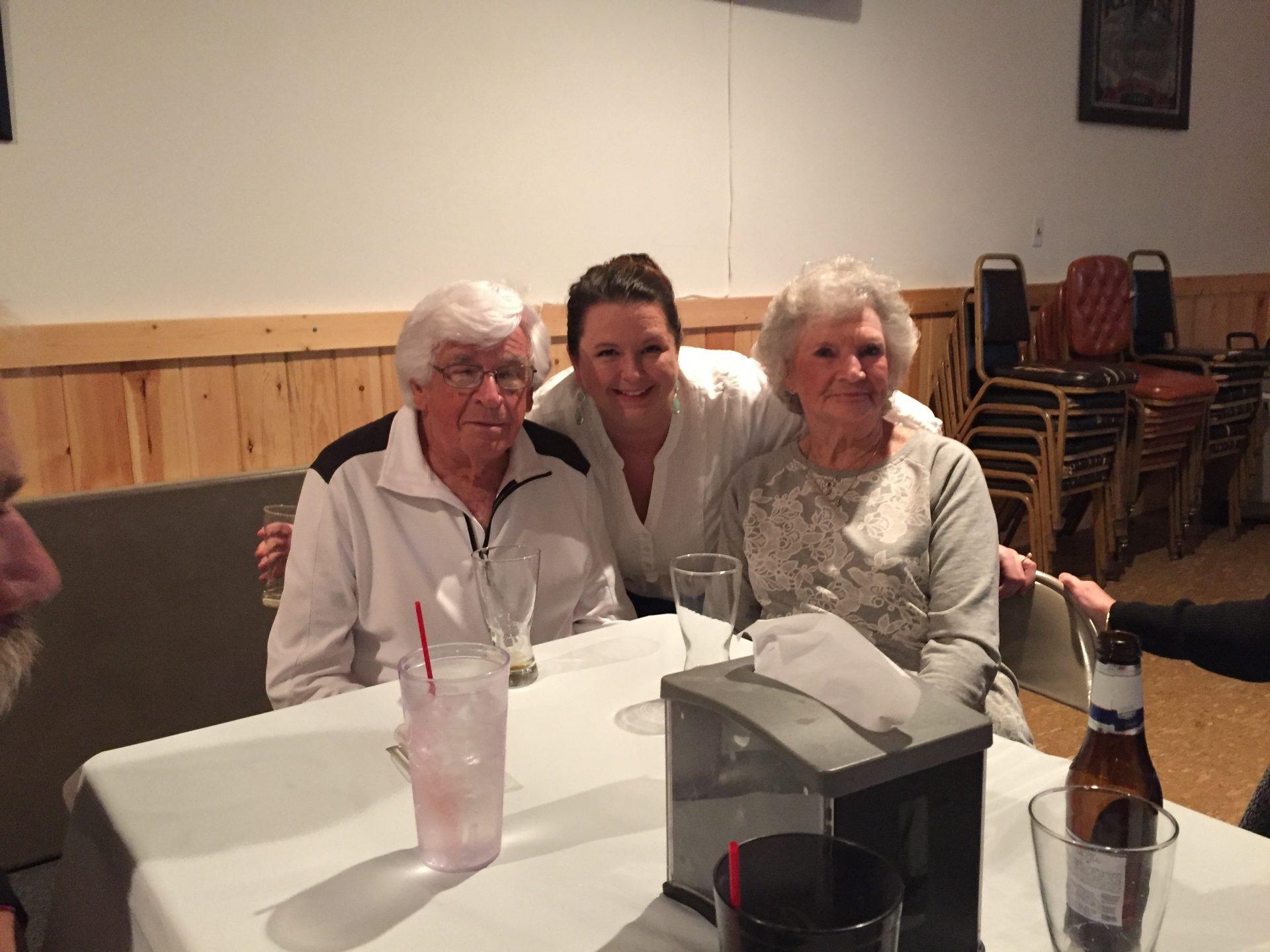 Candice, Granny, and Pop