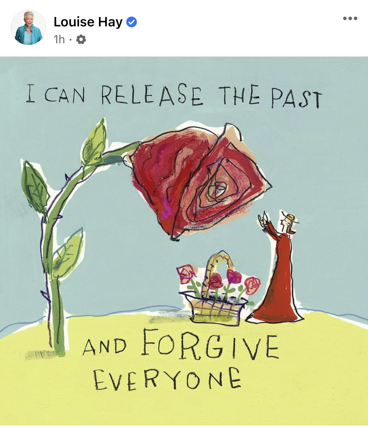 Yes, Dear, I'm still forgiving, blessing and releasing. The forgiven, the blessed and the released are far less intrusive and I pray that they will soon fade away.  I thank you every day for your love and protection.  I love you so much ♥️