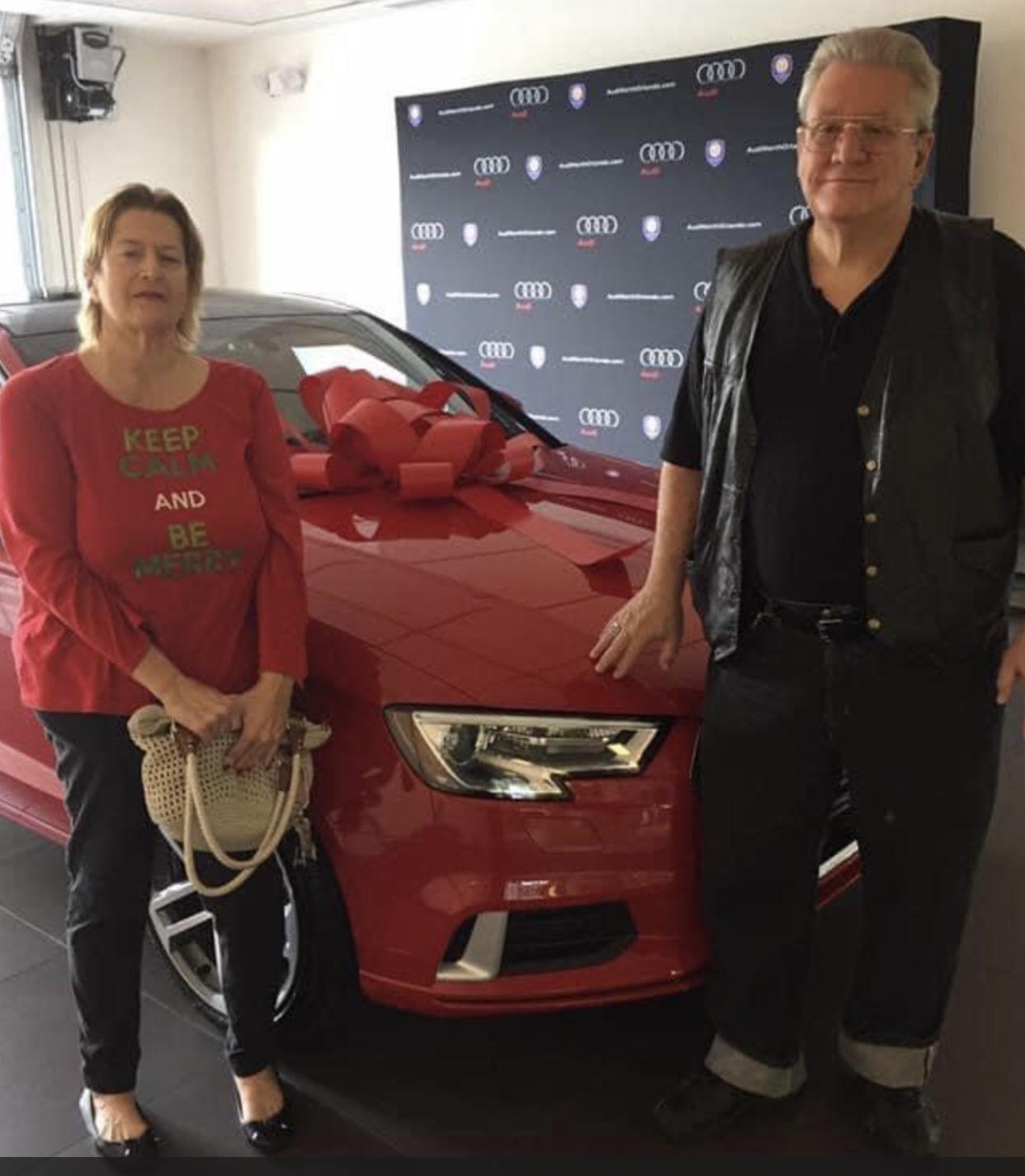 12/24/ 2016 Here's THOR  my beautiful Audi from my beautiful man