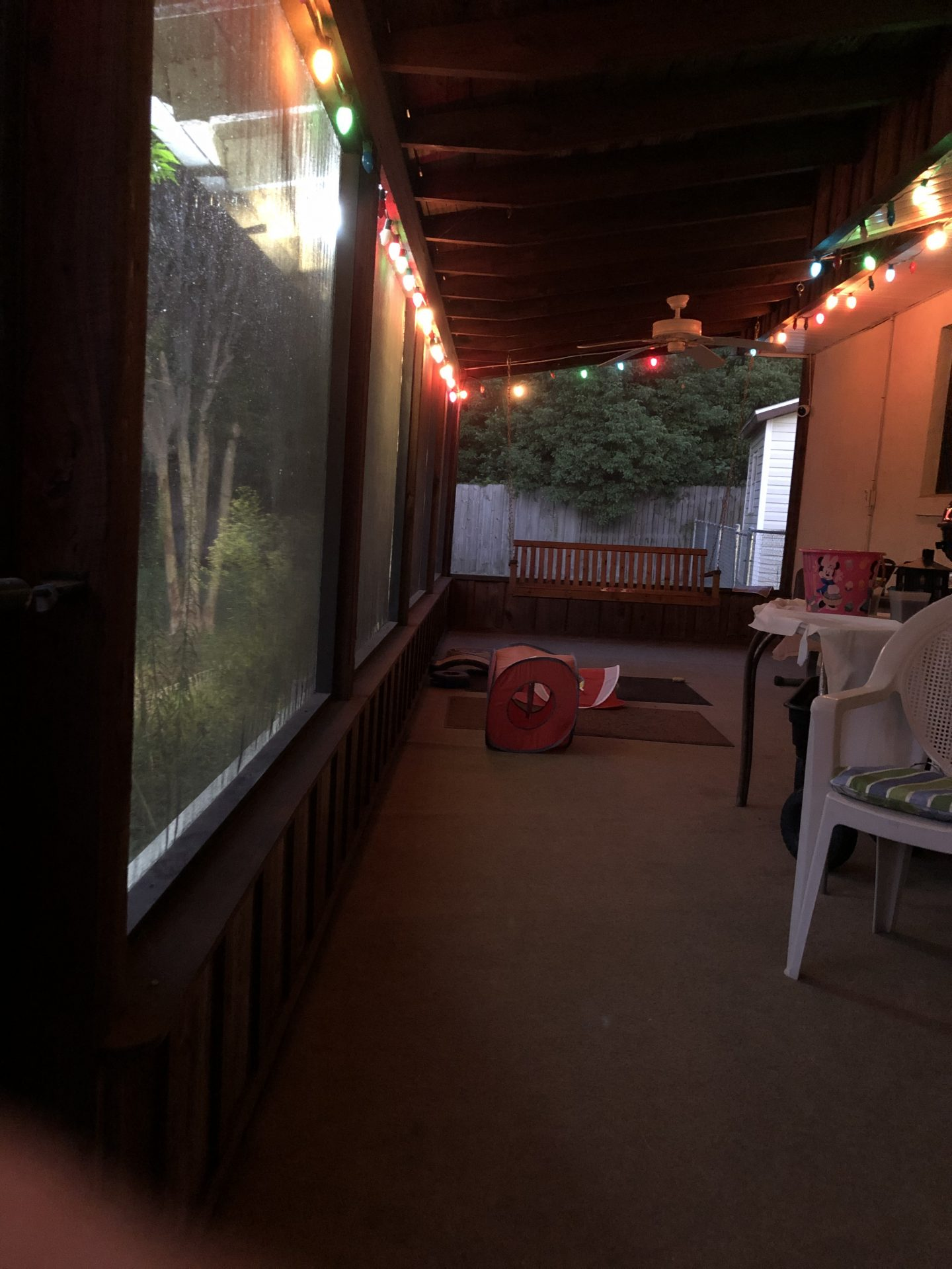 Come sit on the porch with me.  the drinks are cold and the friendship is free.  I know how you love this porch and these kitty cats