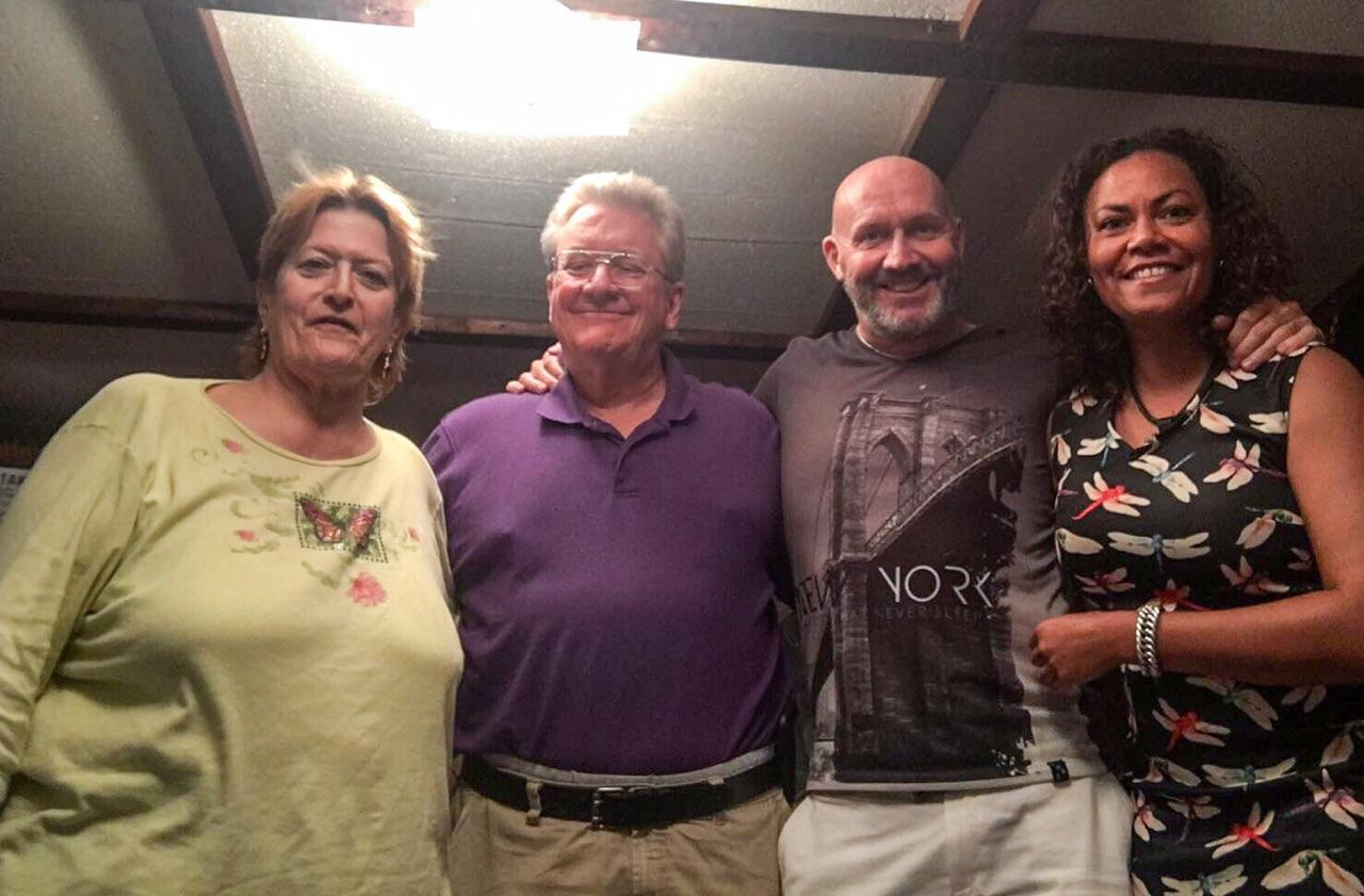 2012 i think... Edwin Haring and myself and another lady from my church... and the vogenitz's... great table tipping sessions!