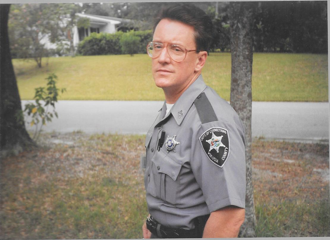 Victor when he worked in Corrections in Volusia County