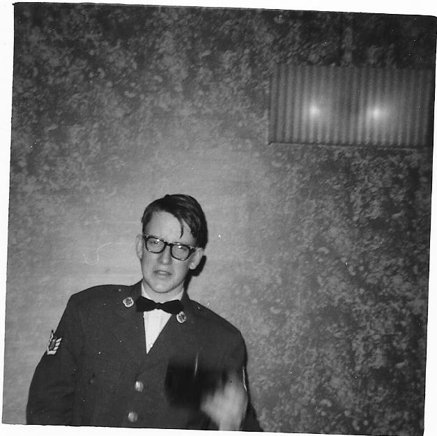 Victor at an AFJROTC function in DeLand Florida in 1970