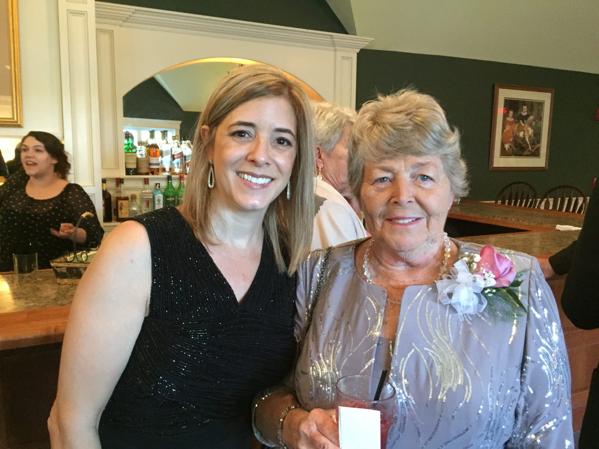 Aunt Charlene and I at Rob and Mary's wedding