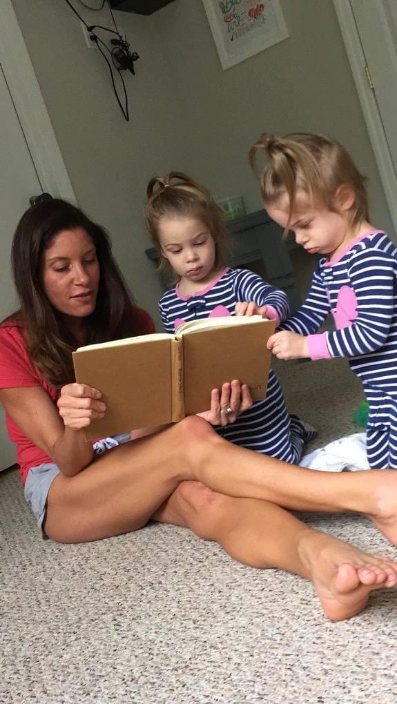 One of her favorite books to read with her girls.