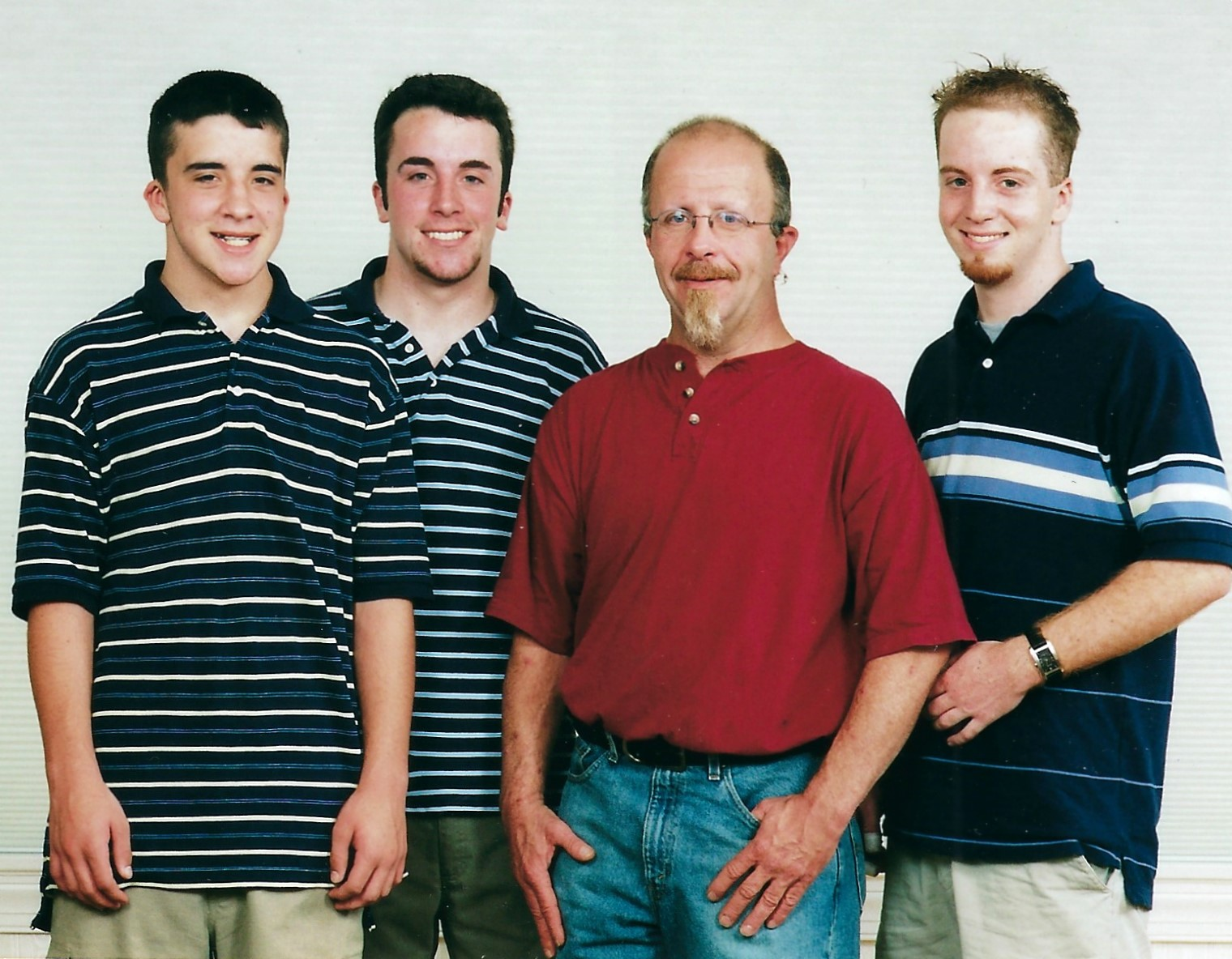 Butch with his sons 2003