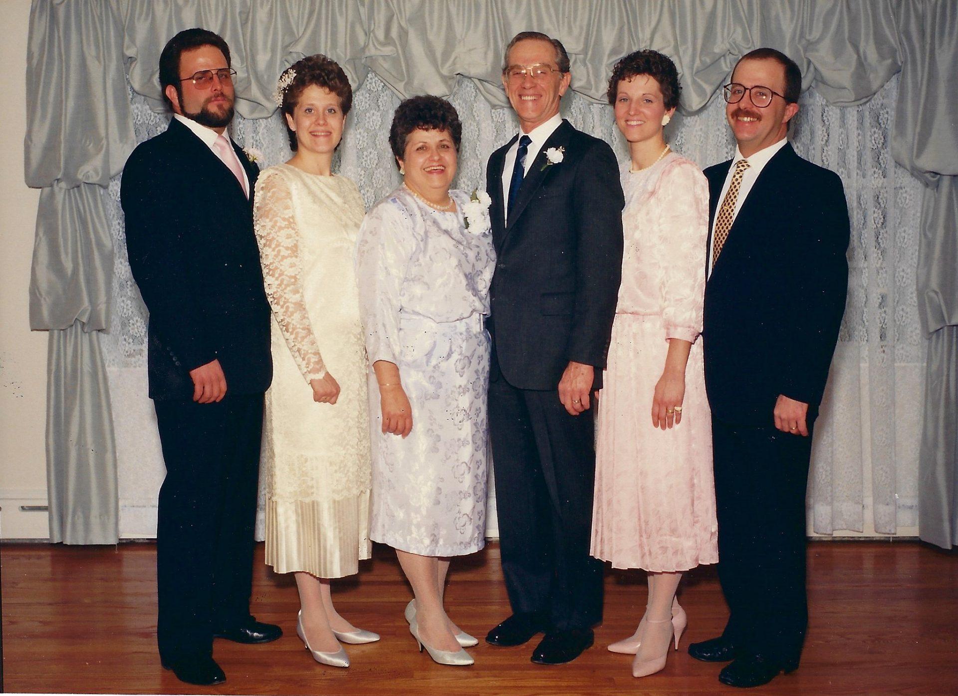 Butch at Martha's Wedding 1988