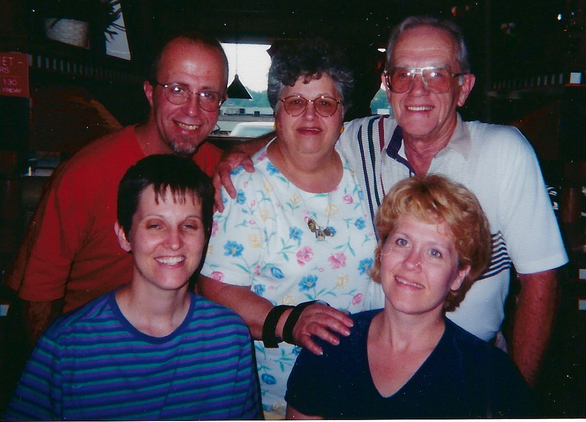 Part of the Clements family in Florida