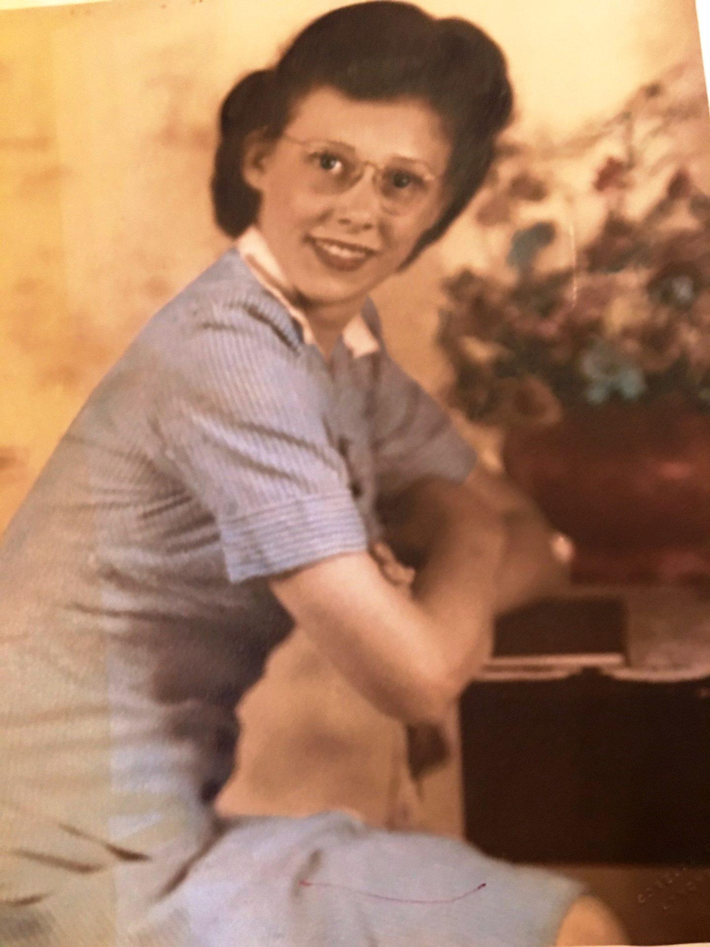 Mom Circa 1944 - 1