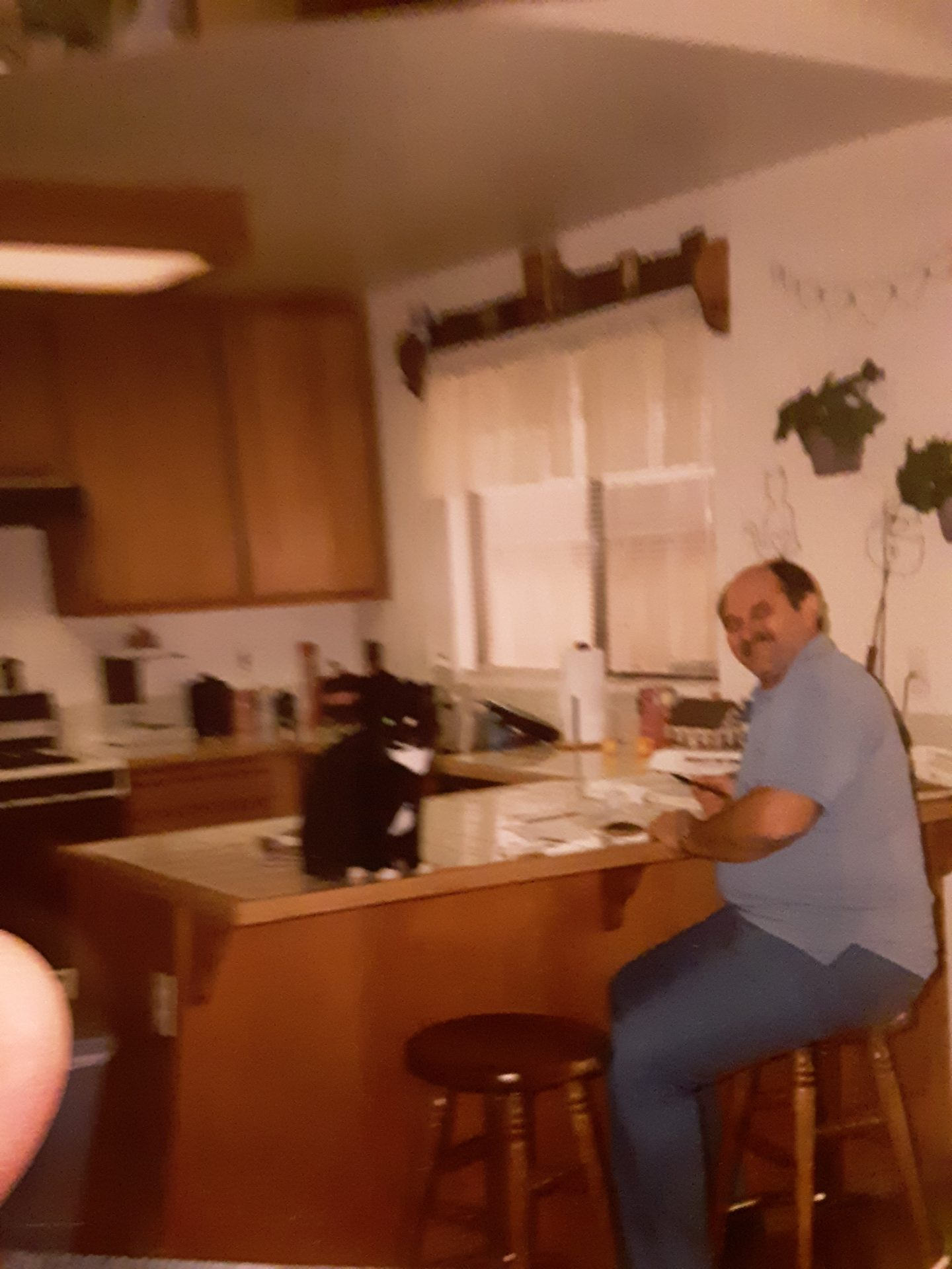 Dad  and  Blackie! California