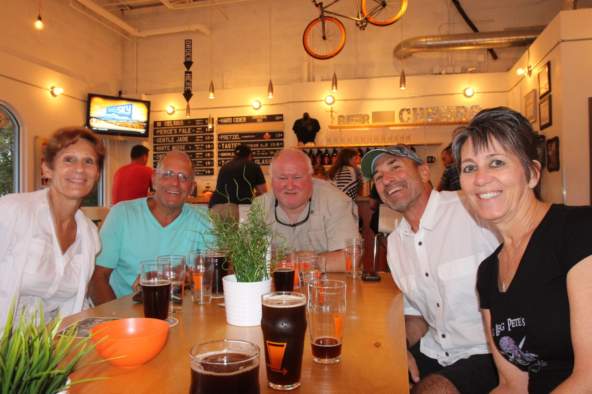 Fun night at the brewery...August 2015