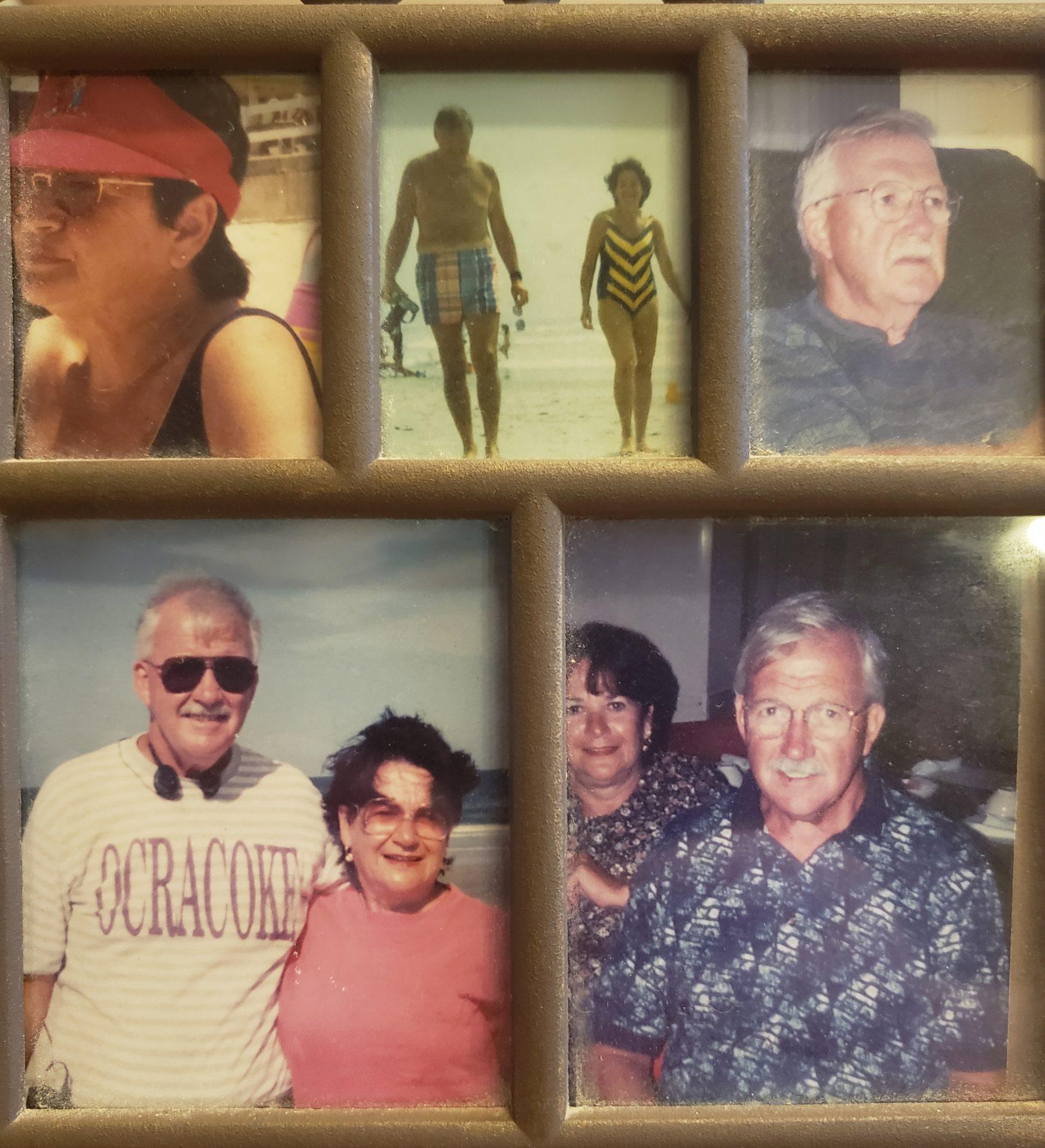 Dad and Mom enjoying retirement in New Smyrna Beach.
