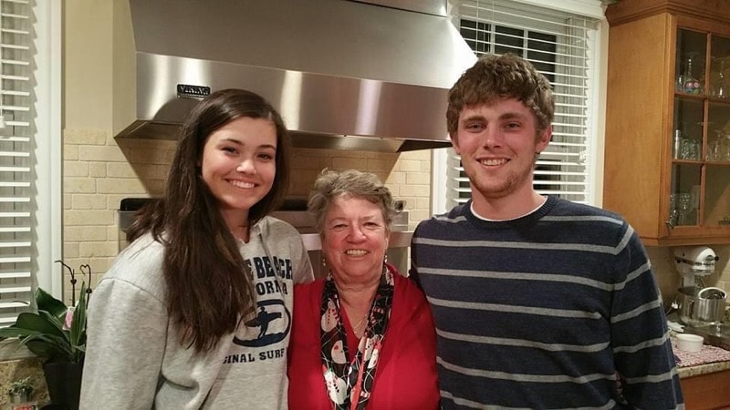 Grammy with Danny and Katie Burris