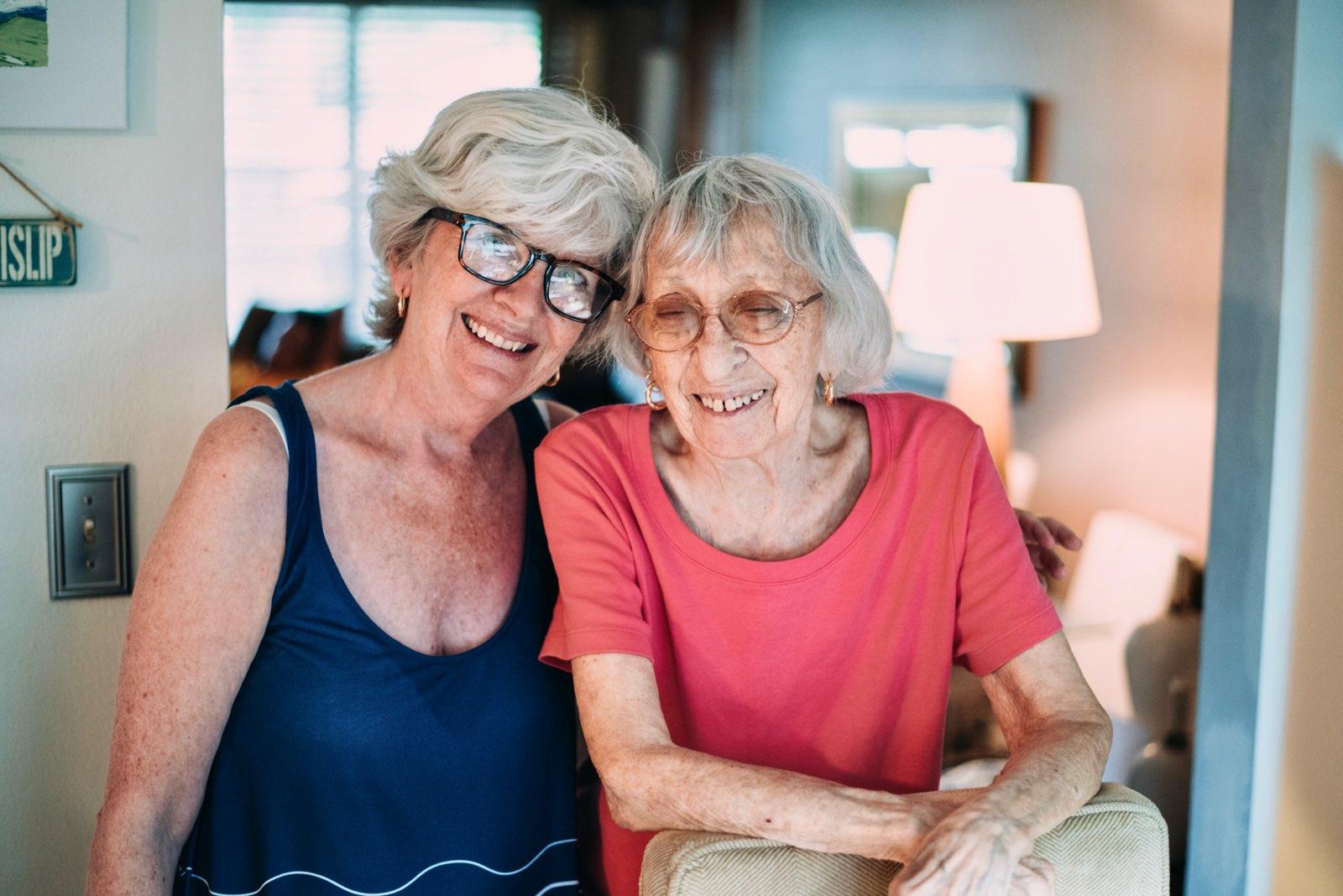 Lisa and Mom