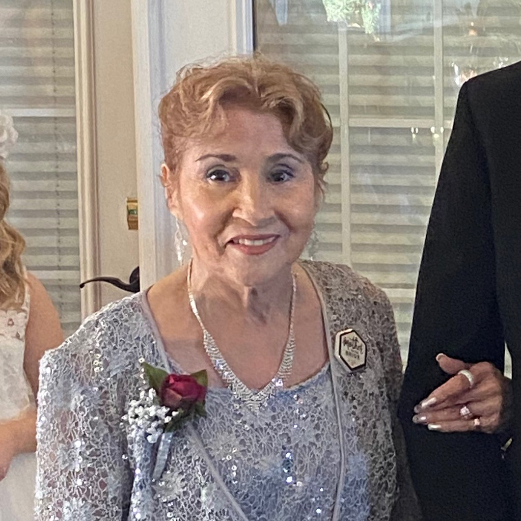Mom at Venus and Daniels wedding on March 1,2020