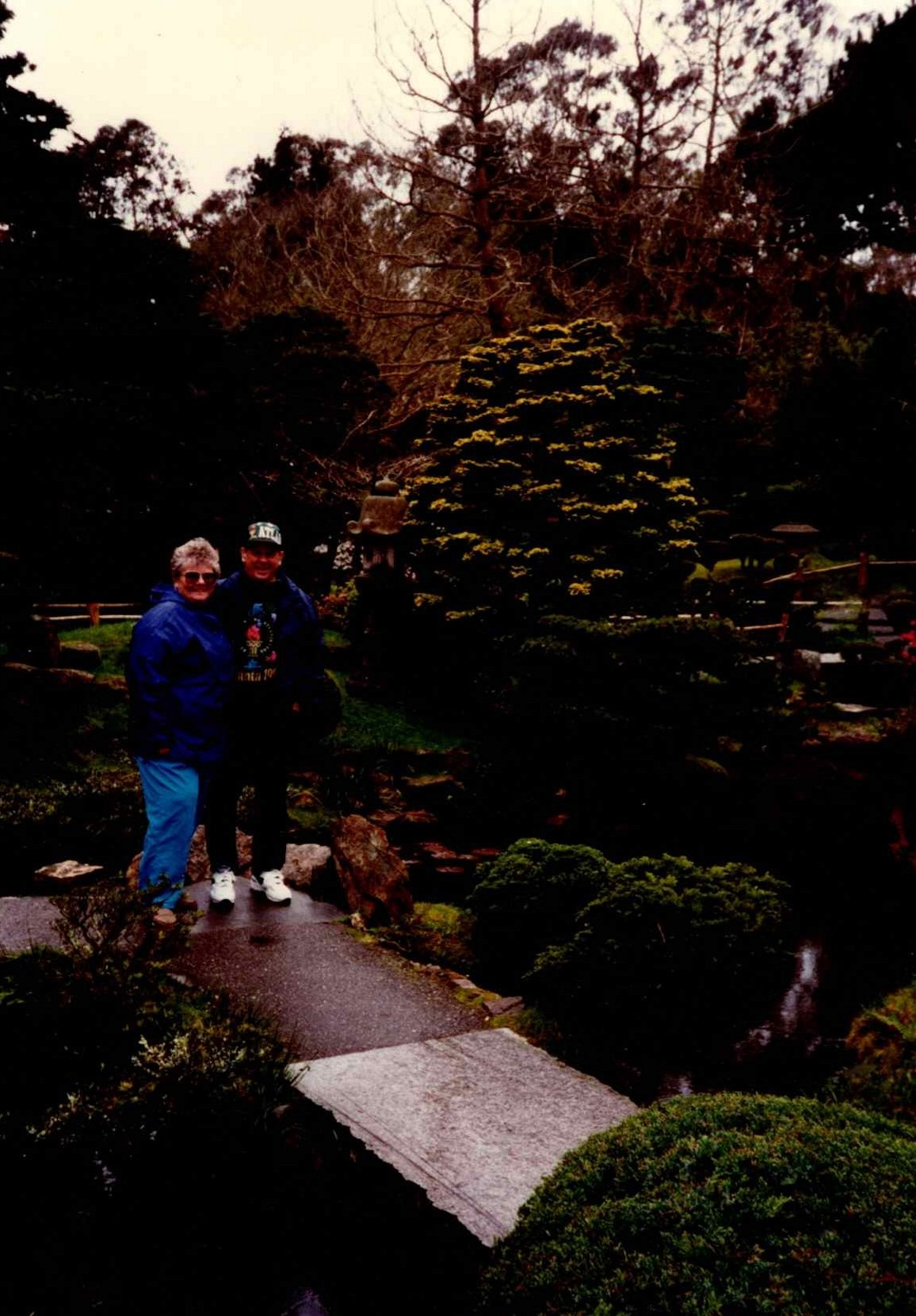Together in the Beautiful Gardens