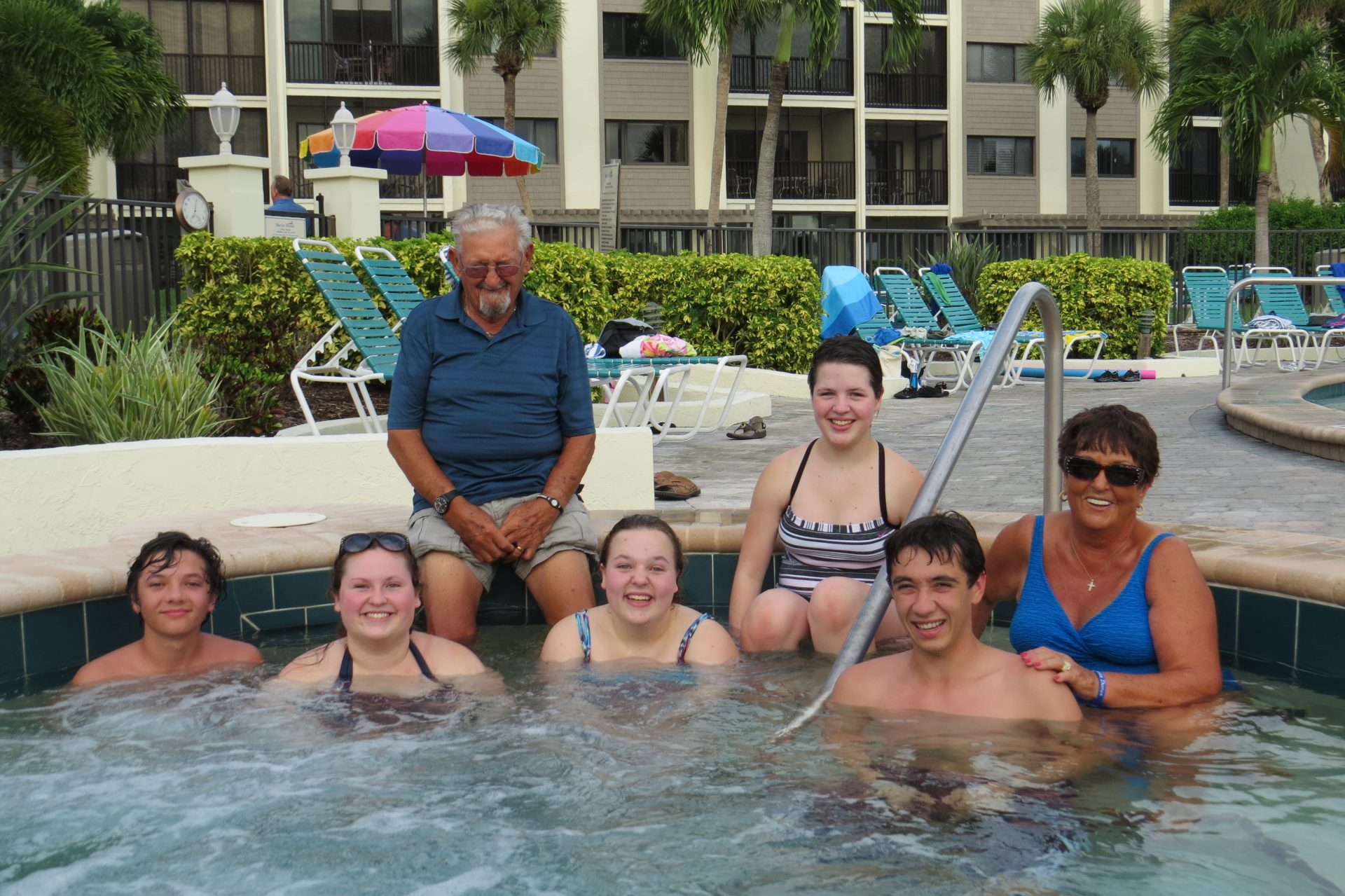 Siesta Key with the family